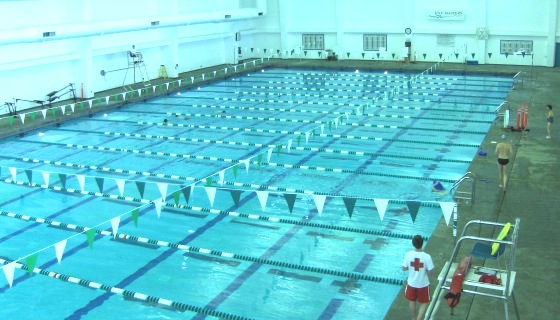 but its convenient and clean and underwent a recent remodel bummer for those who want to swim now its closed for the winter until march 1 fee 5 - Olympic Swimming Pool 2014