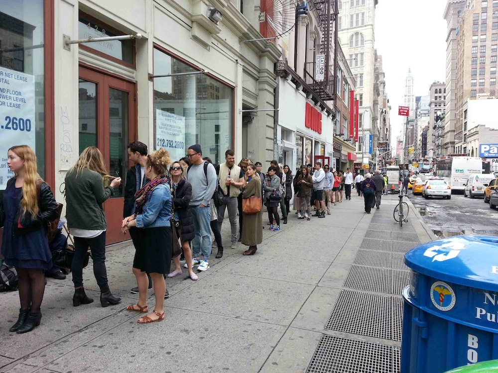 The Opening Ceremony Sample Sale Line Is Long as Hell - Racked NY