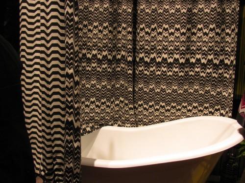 Ellio Organic Plum Shower Curtain Missoni Shower Curtain