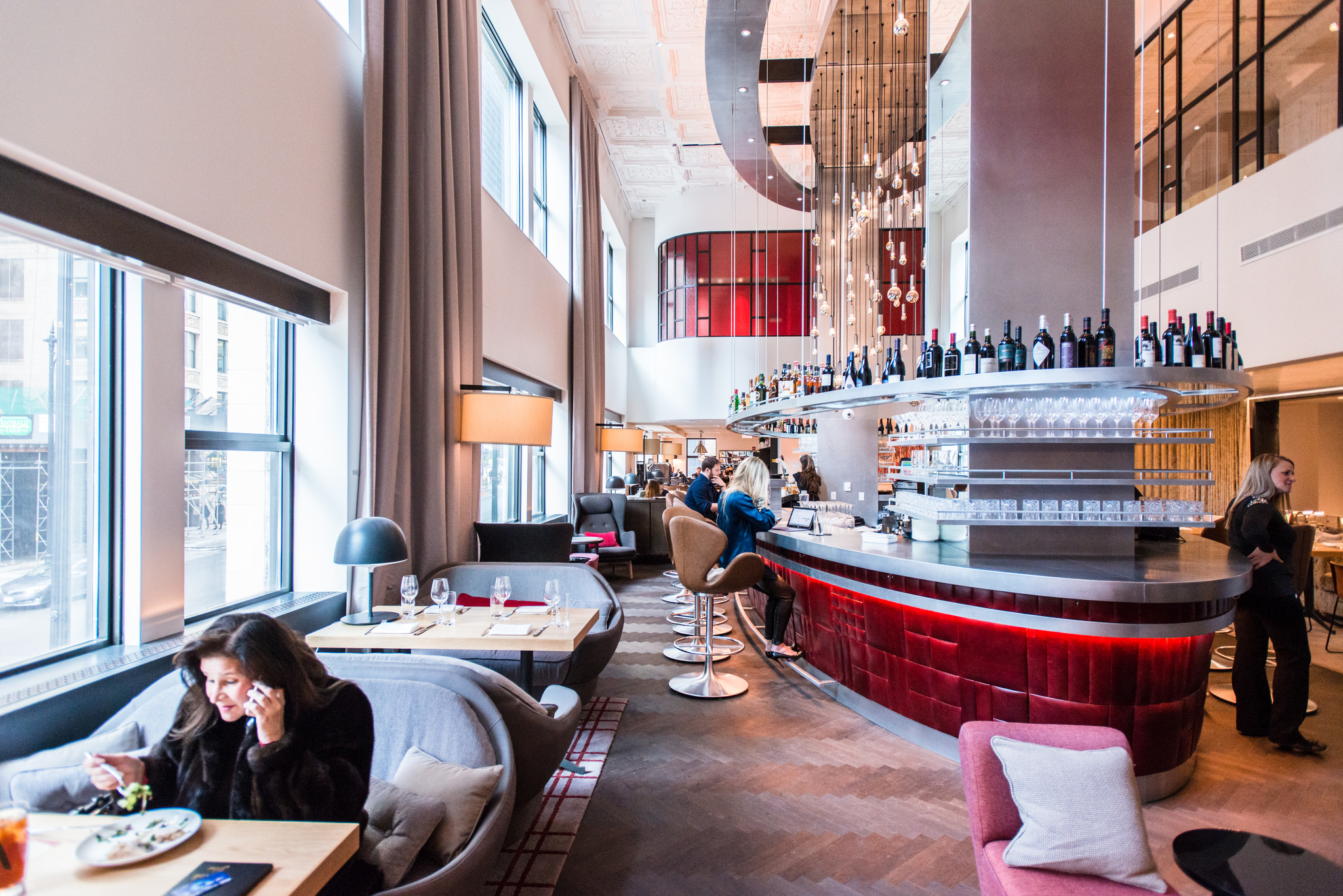 A K Inside The Commons Club Virgin Hotel Chicago S First Restaurant Eater