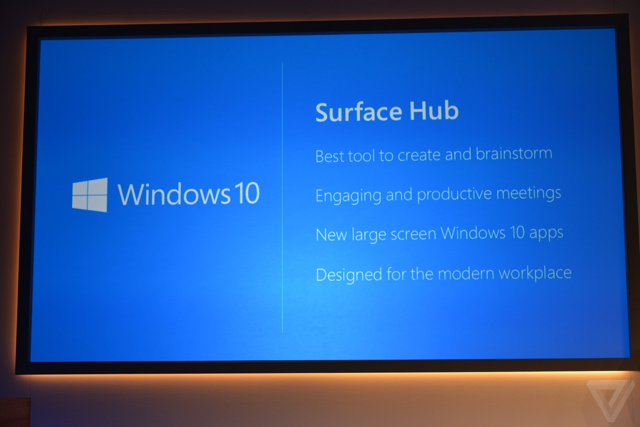 Microsoft announces 84-inch Surface Hub tailored for ...