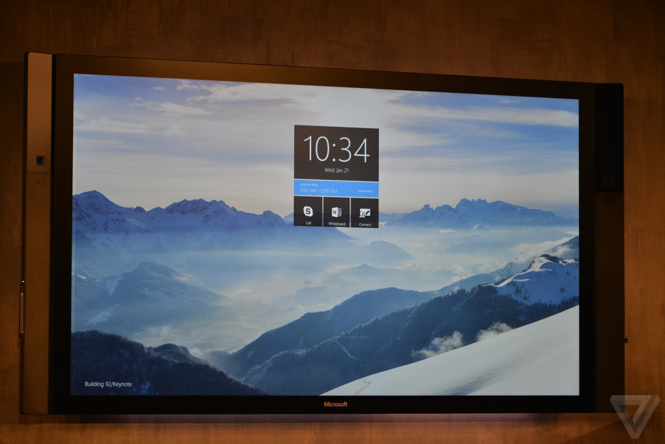 Building 92 microsoft store - Microsoft Announces 84 Inch Surface Hub Tailored For Windows 10