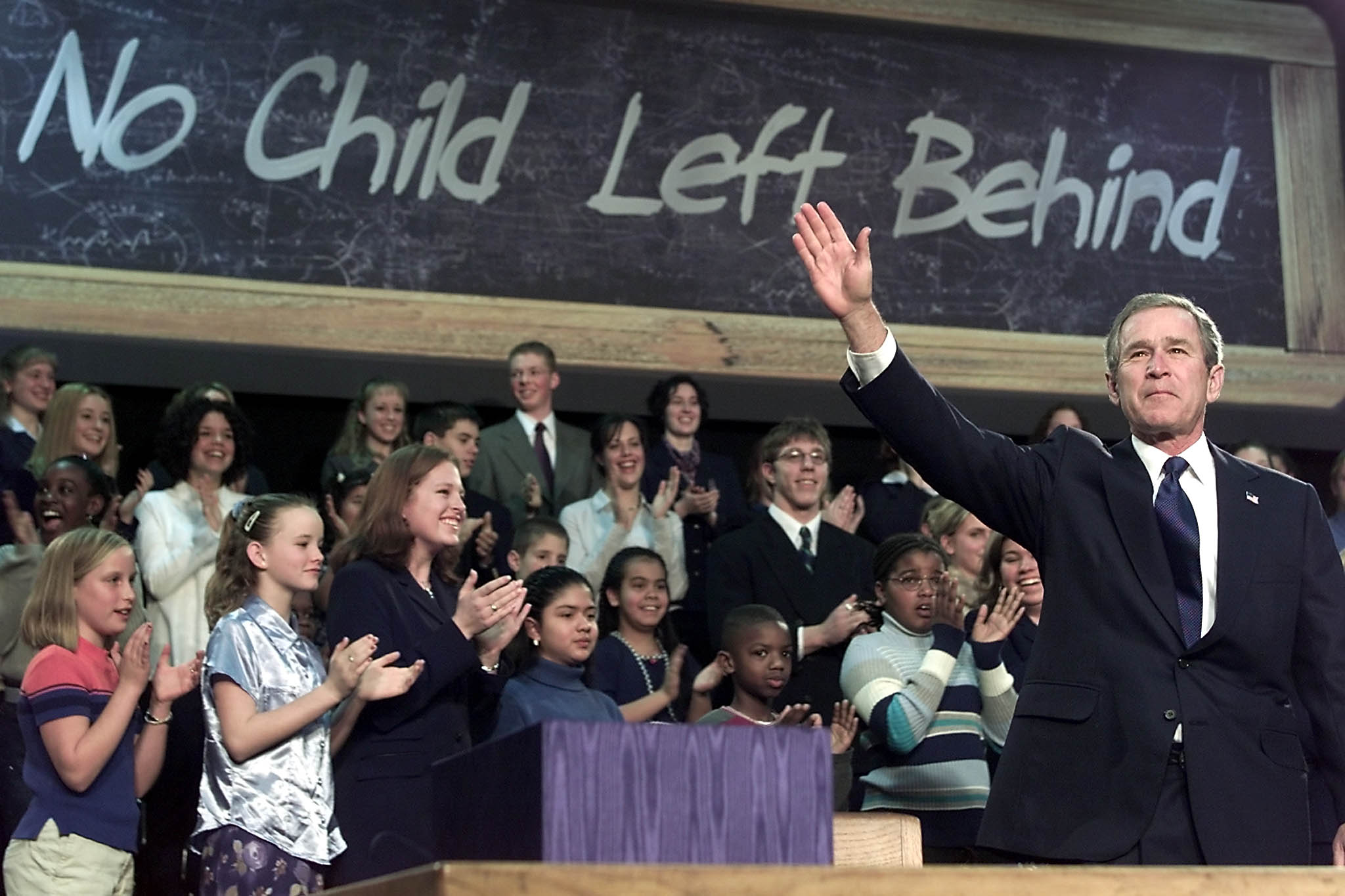 a guide to no child left behind as congress tries to rewrite the  bush at nclb signing