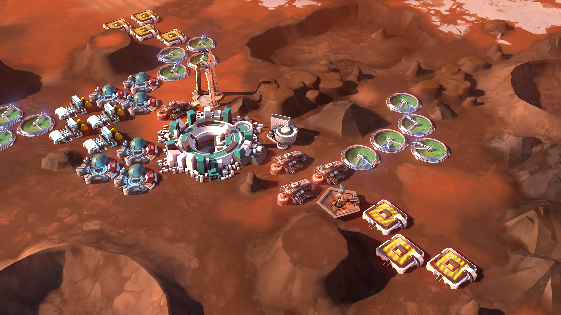 Here's Offworld Trading Company, a real-time strategy game that's trying something new