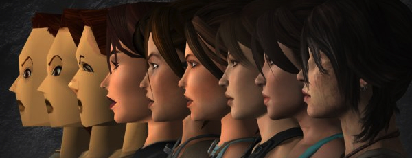 How Lara Croft's changing face illustrates Moore's law