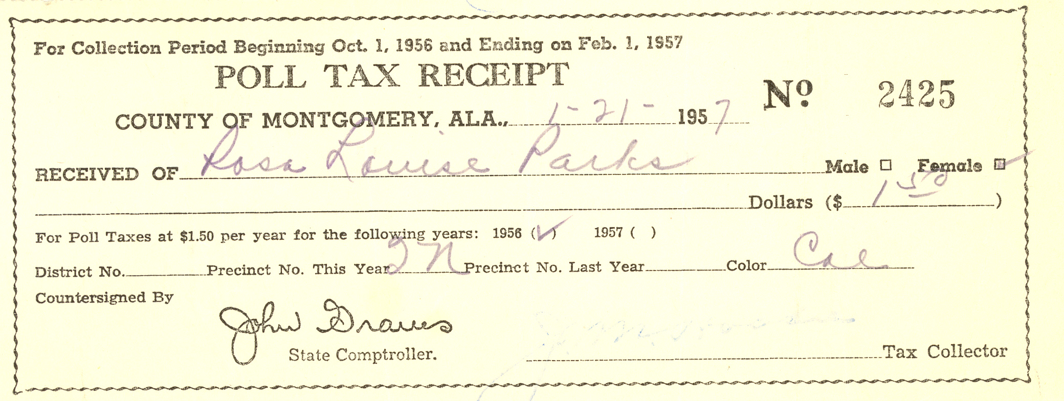 Check out this incredible collection of rosa parks personal check out this incredible collection of rosa parks personal writings and photos ccuart Image collections