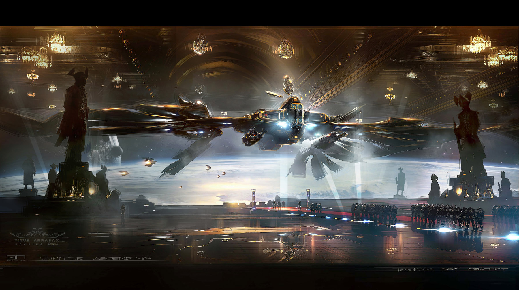 The Spectacular Science Fiction Concept Art Of Jupiter