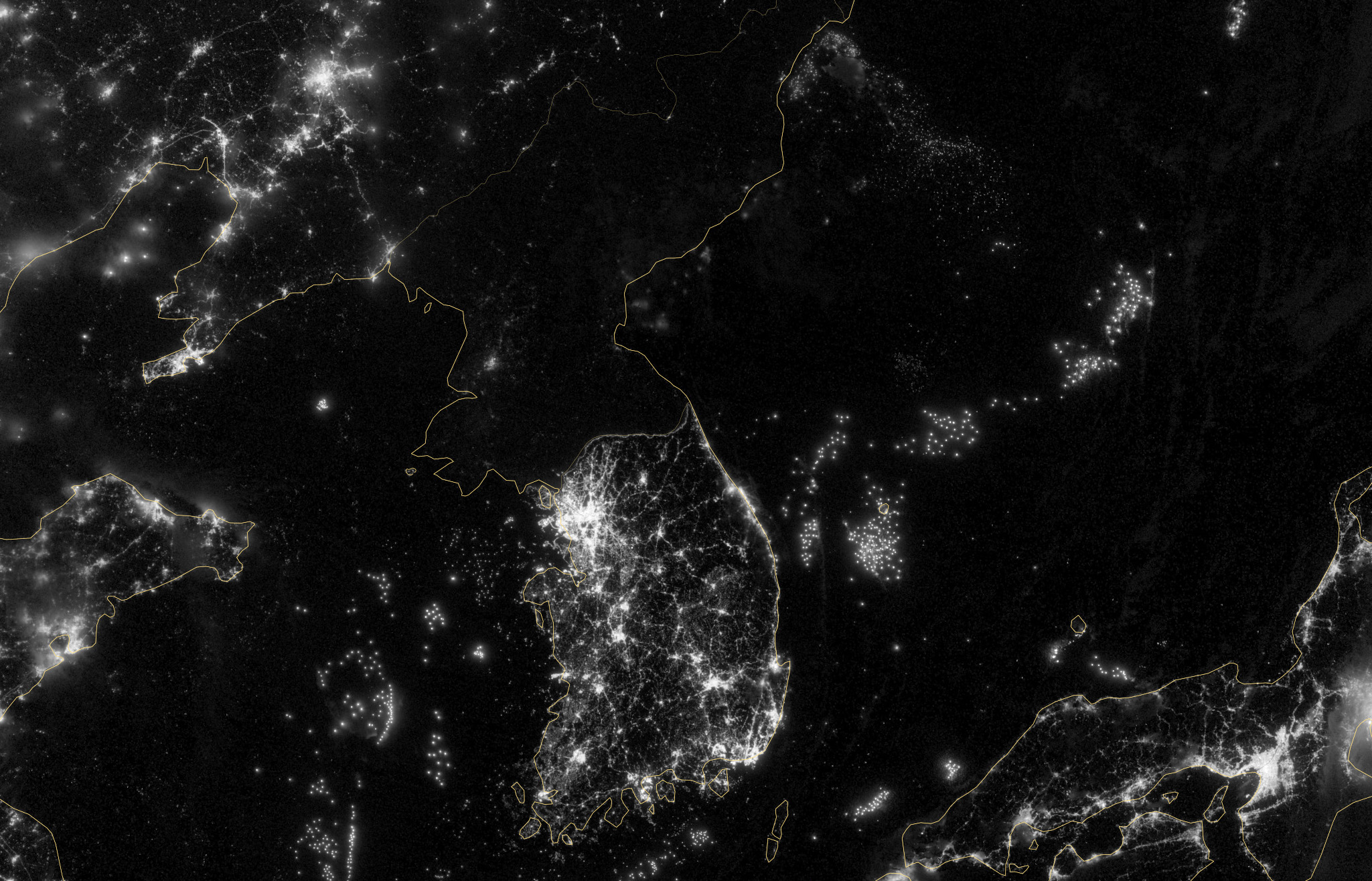 North Korea Defends Blackout Satellite Photos The