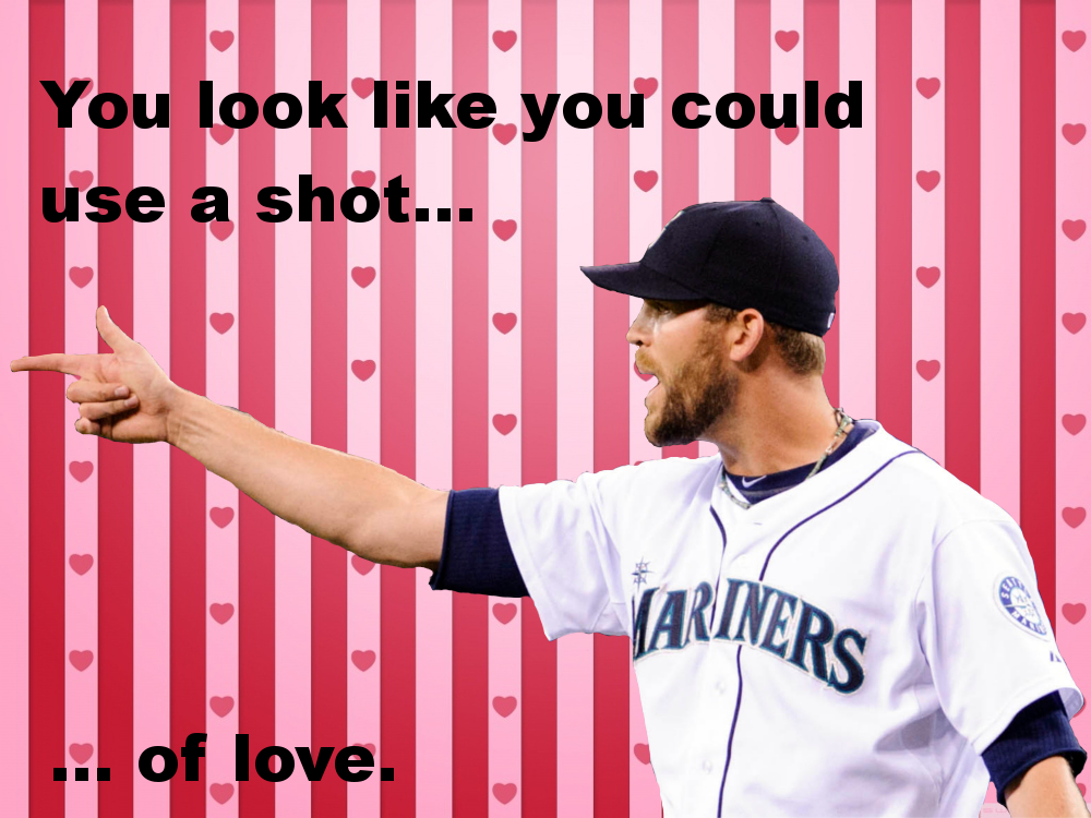 Some Mariners-themed Valentines to give to your loved ones ...