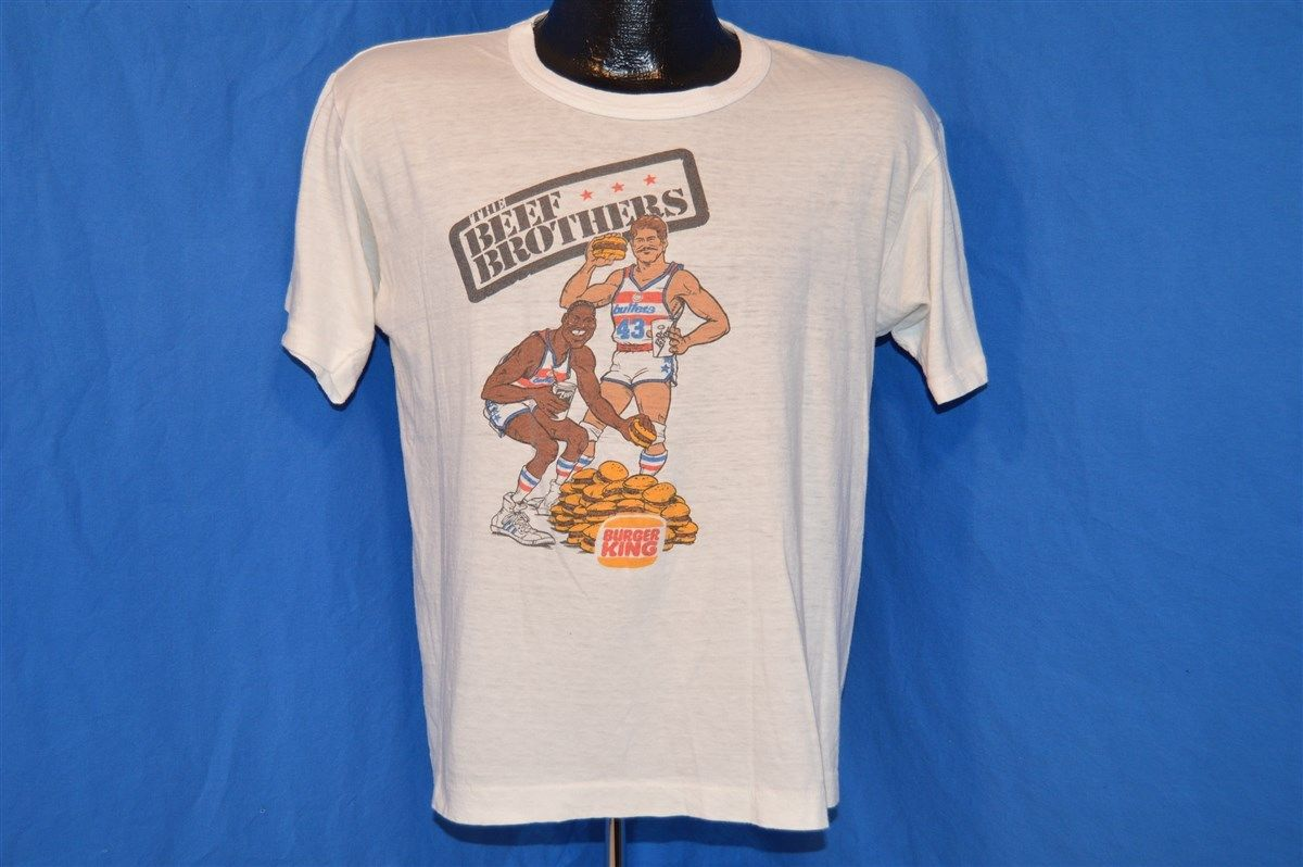 """This Rick Mahorn Jeff Ruland """"Beef Brothers"""" shirt is perfect on"""
