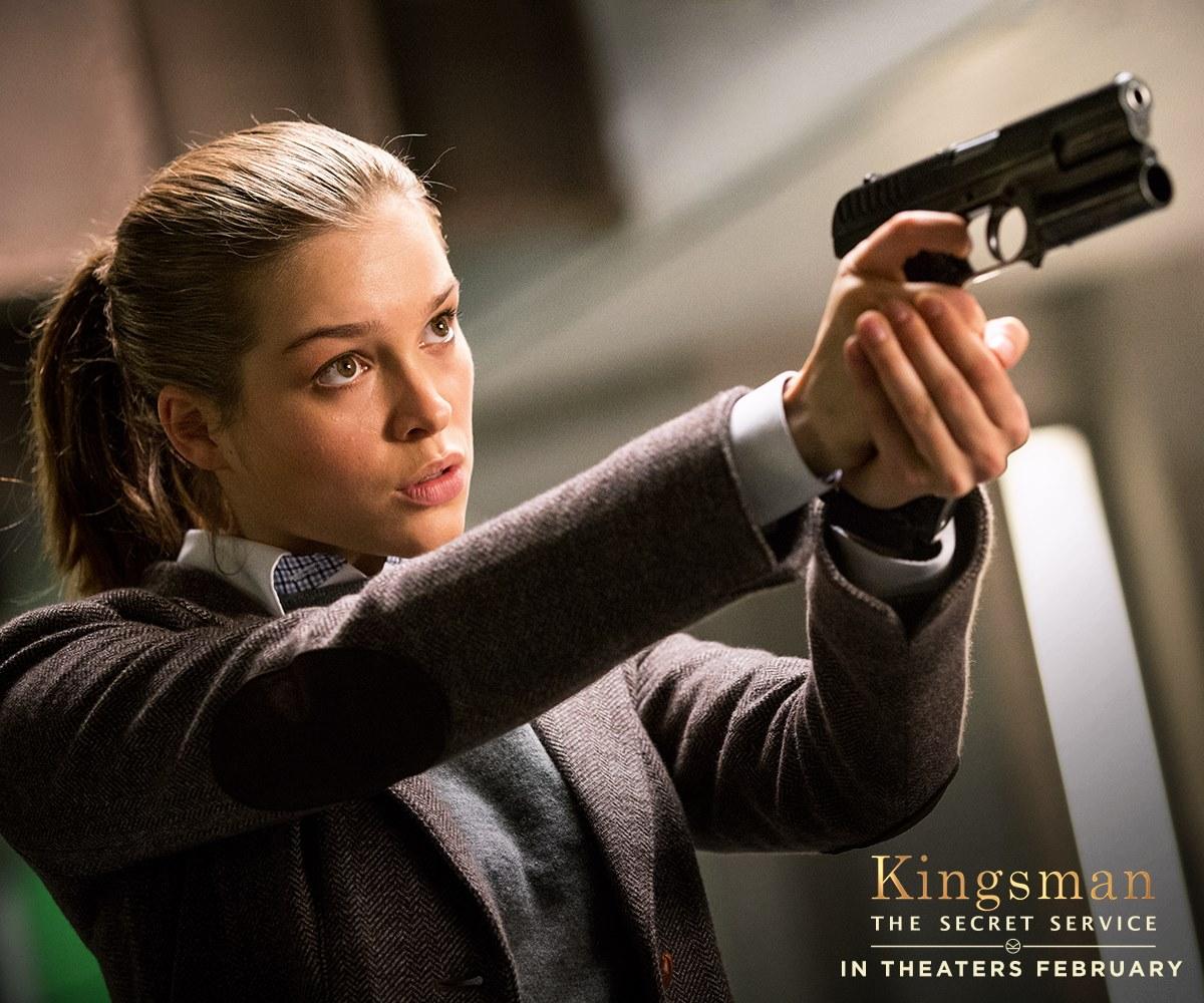 Sophie Cookson Taron Egerton Bring Kingsman The Secret: Kingsman: The Secret Service Is A Spy Spoof With Heart