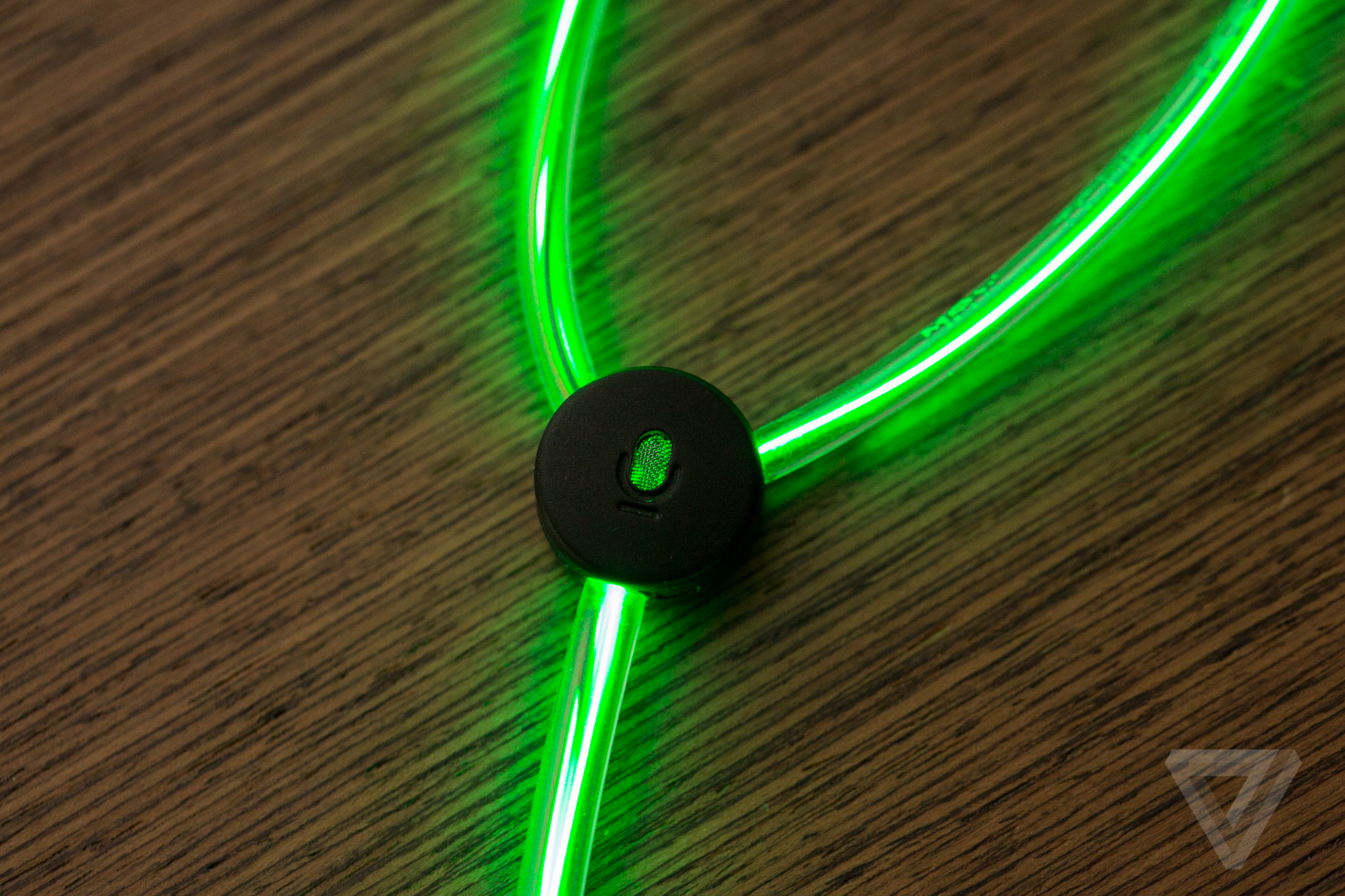 Up close with Glow's crazy laser light earbuds - The Verge