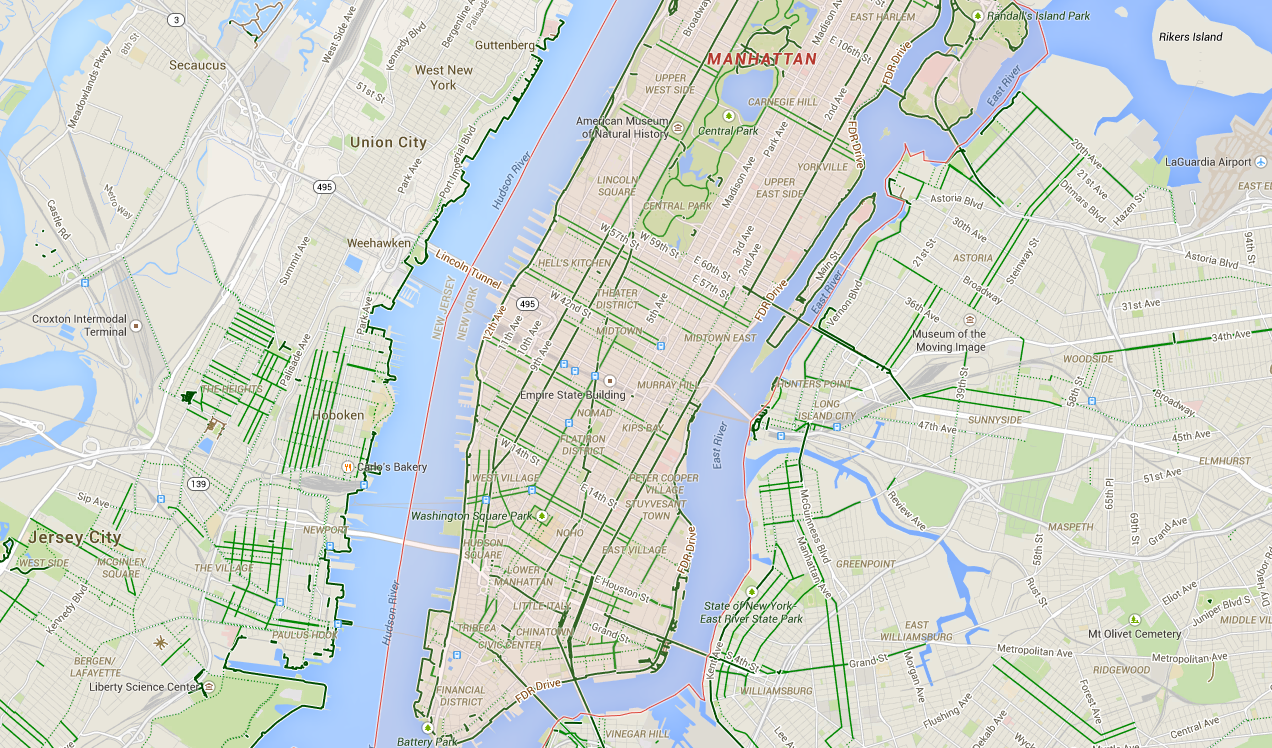 Cyclists report a disproportionate number of errors to google maps google maps bikes gumiabroncs Gallery