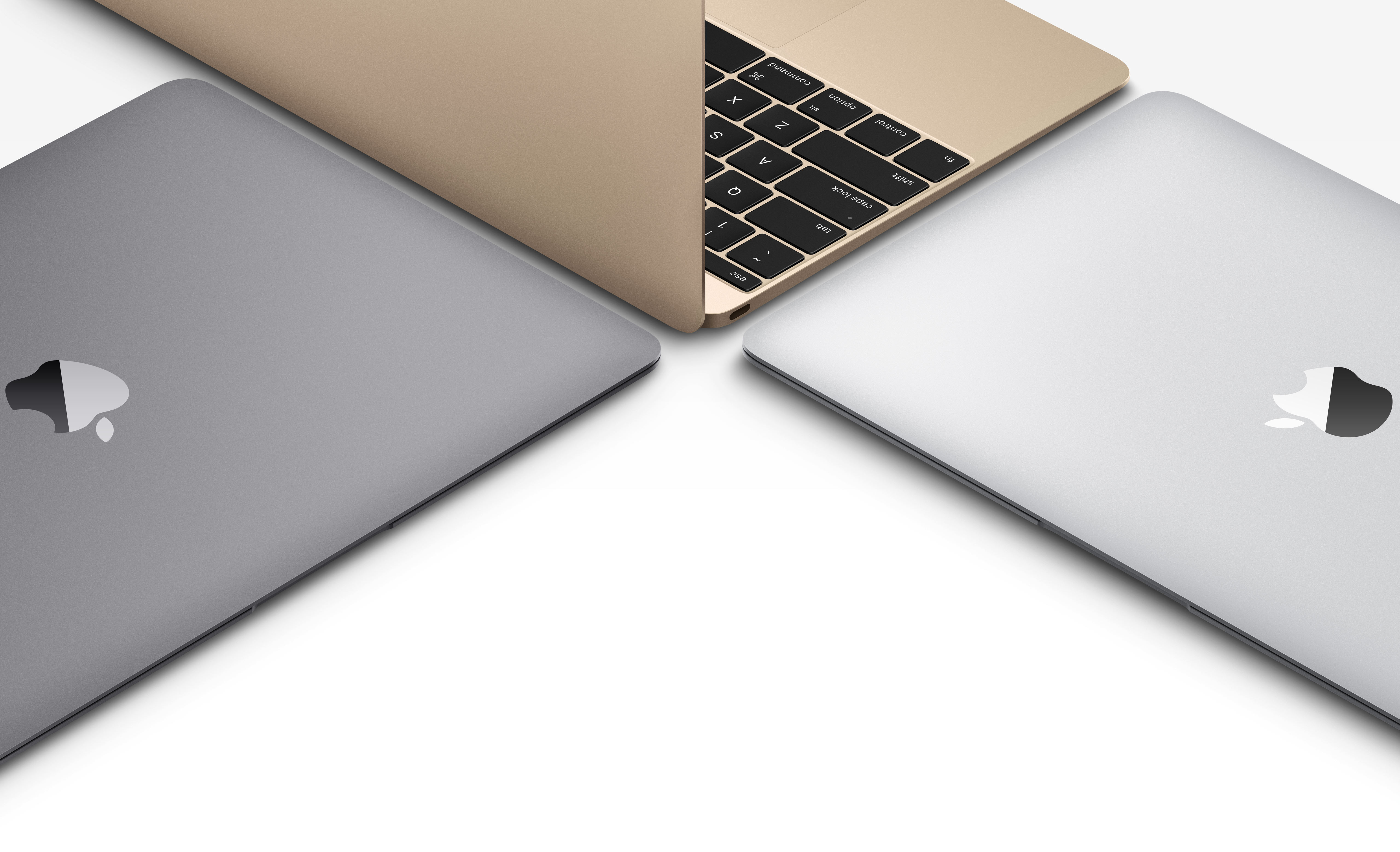 This is the new gold MacBook - The Verge