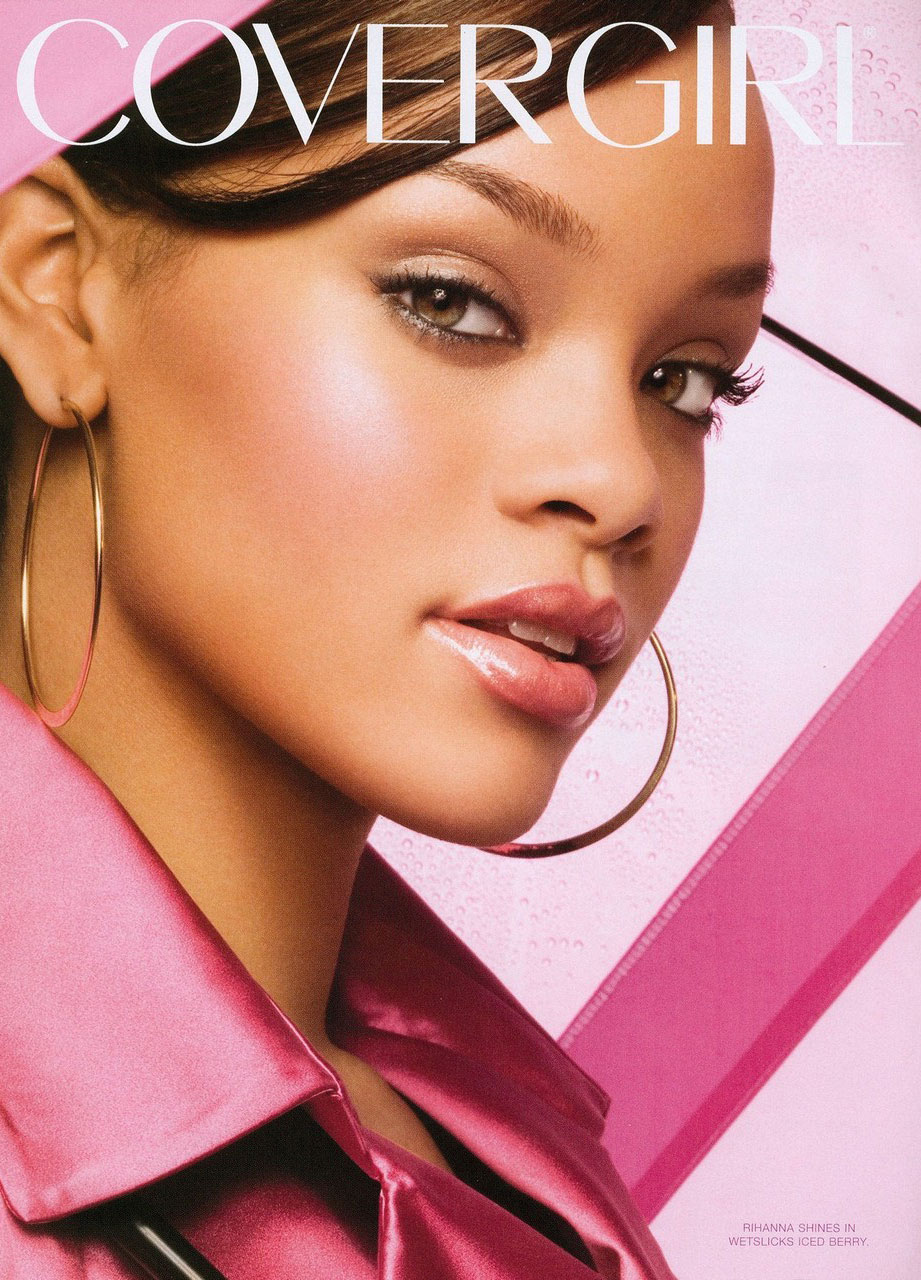 Both Sofia Vergara And Rihanna Have Cosmetics Contracts With CoverGirl