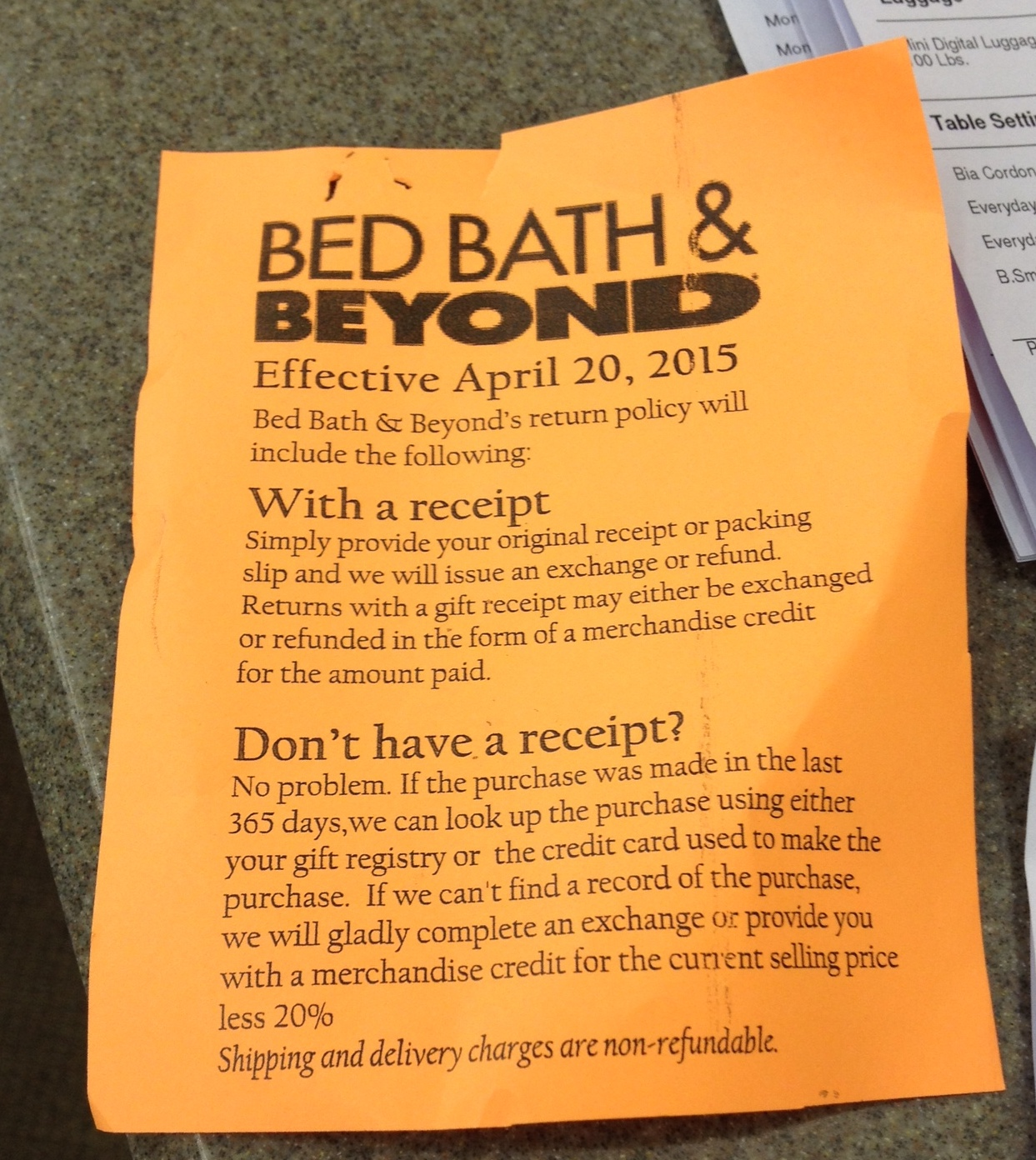 exclusive: say goodbye to bed bath & beyond's generous return