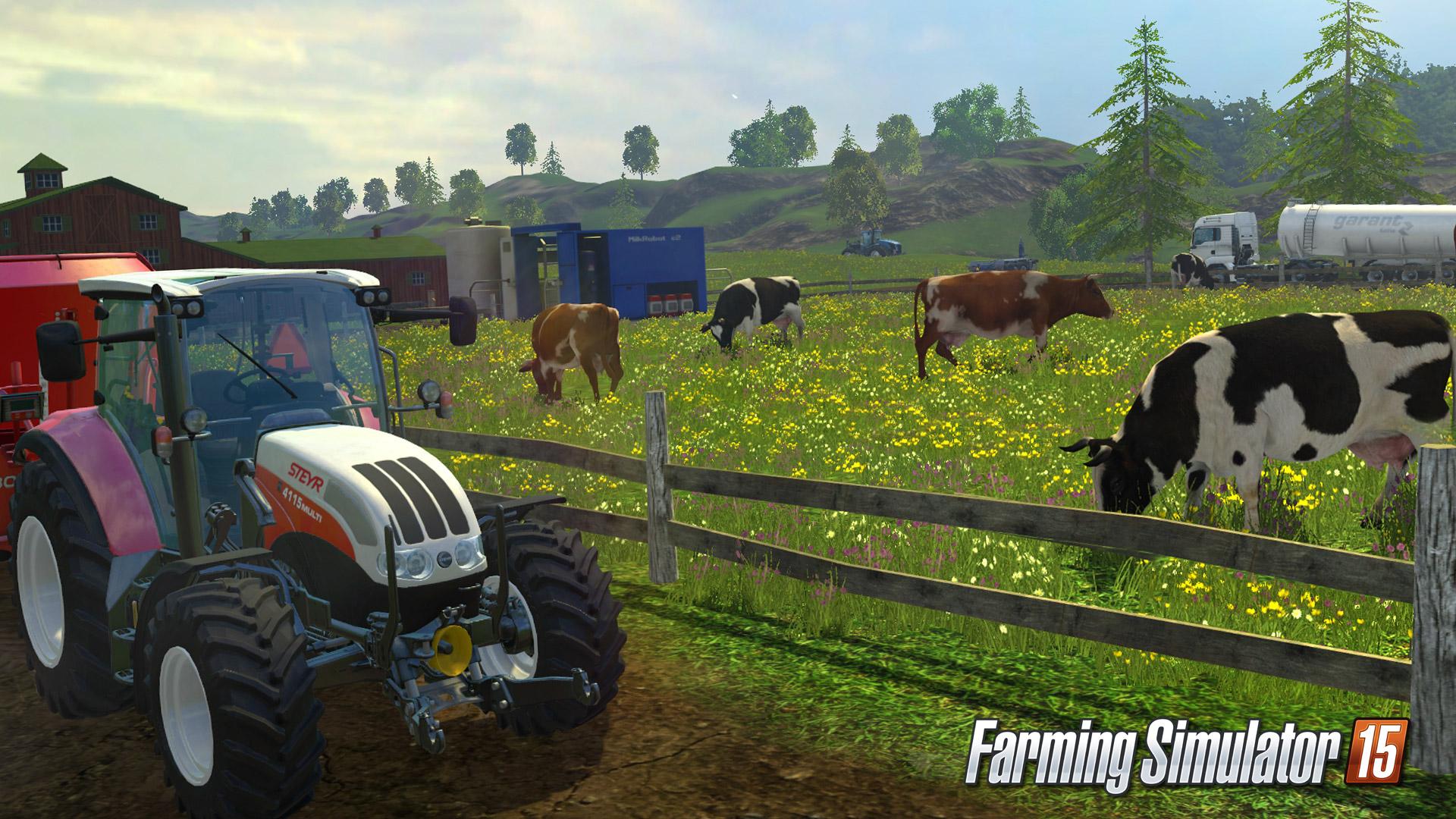 Farming Simulator 15 brings serious farm simulation to consoles in