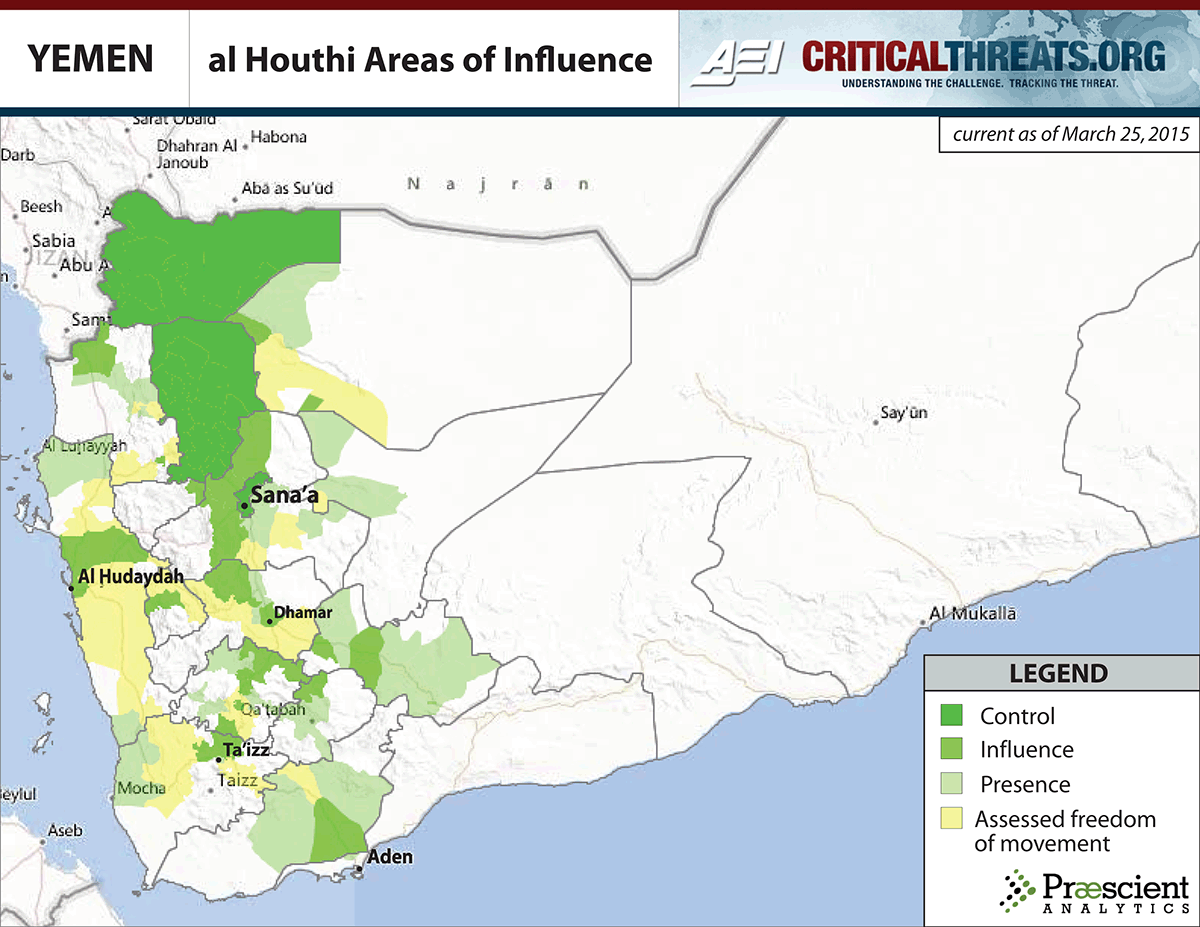 Yemens Rapidly Escalating War A Simple Explanation Vox - Yemen map png