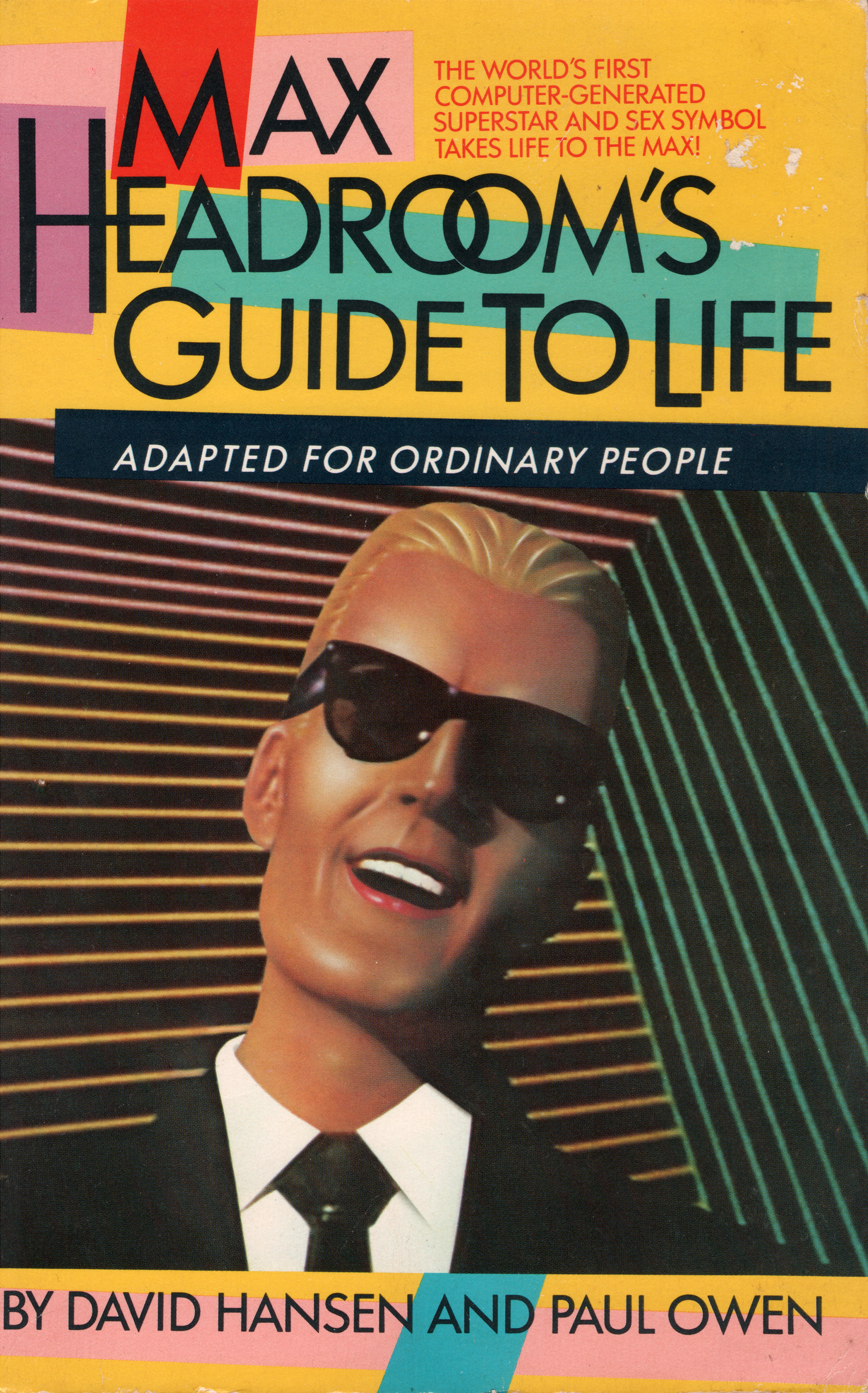 Photo Essay The Wildest Max Headroom Merchandise Of The
