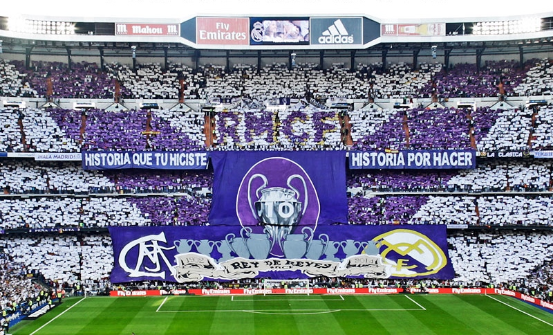 Image result for Real Madrid fans