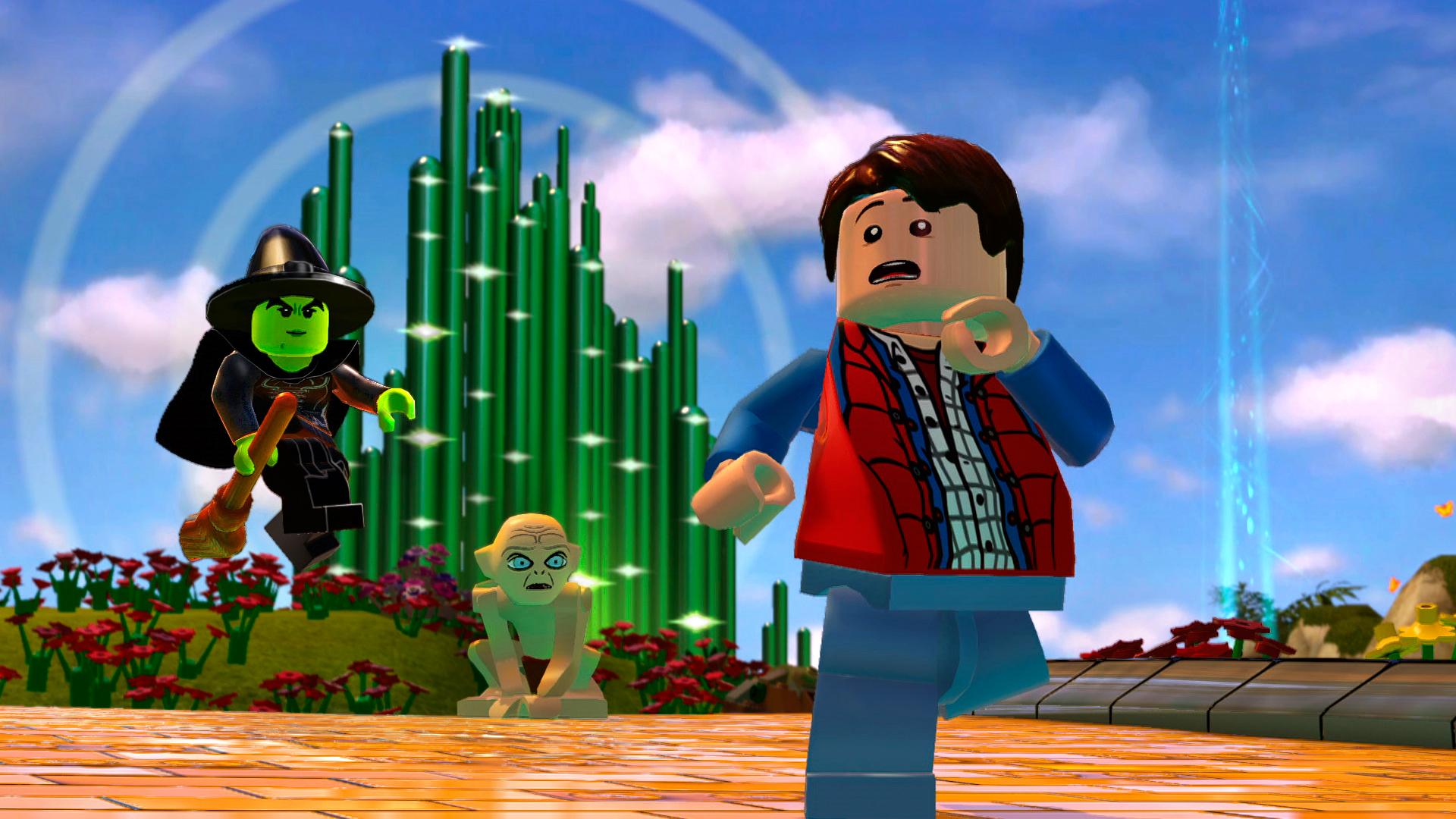 Lego Dimensions Build Menu