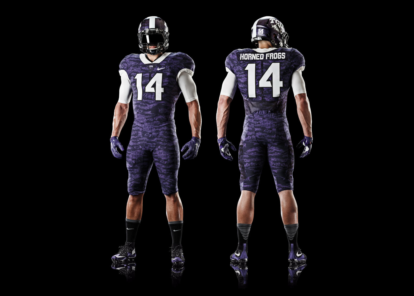 723821966 The cutting-edge football uniform and new design reflect TCU s aggressive  defense