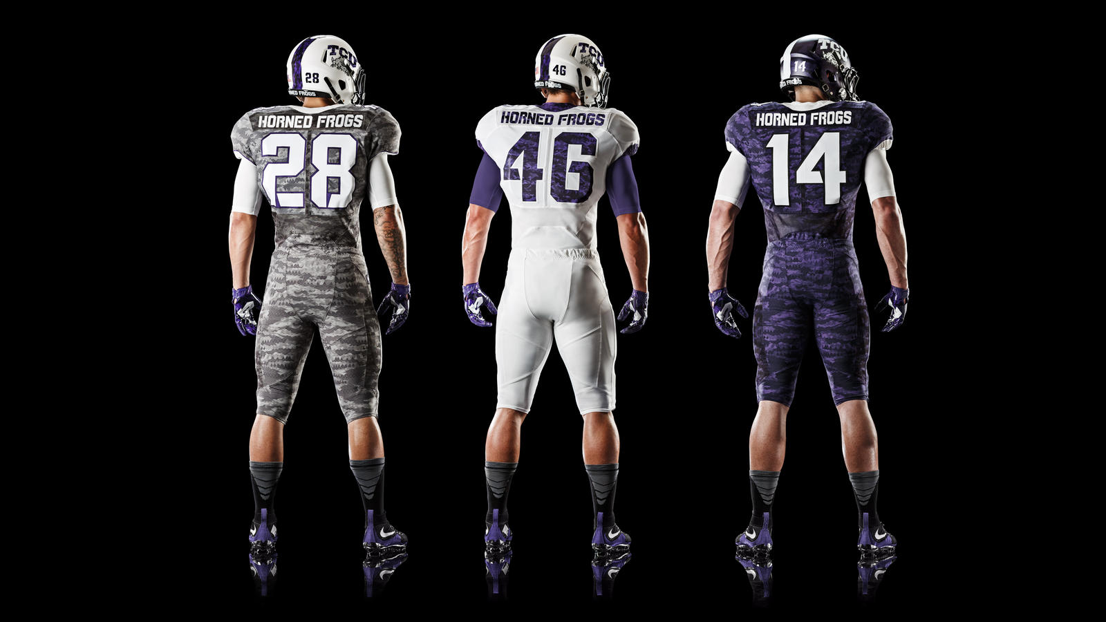 4c7a9cc50 TCU Reveals New Nike Uniforms at Spring Game - Frogs O  War