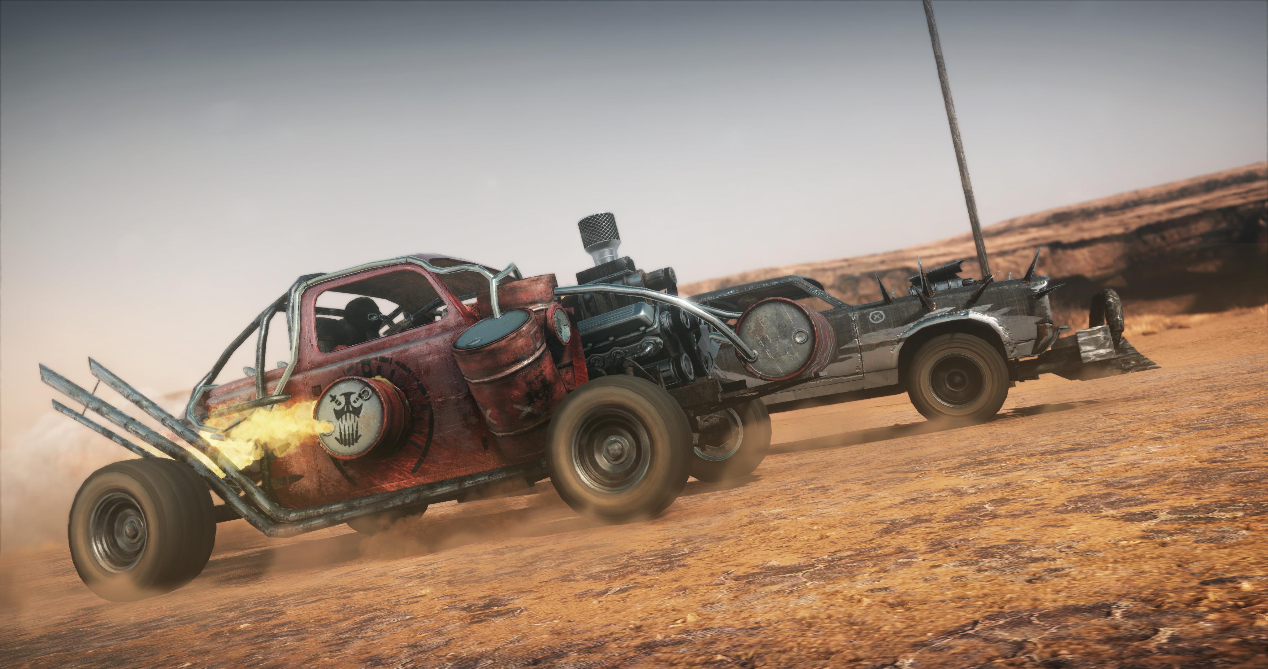 Mad Max Screenshots Show A Bloody Desolate Desert Update Polygon