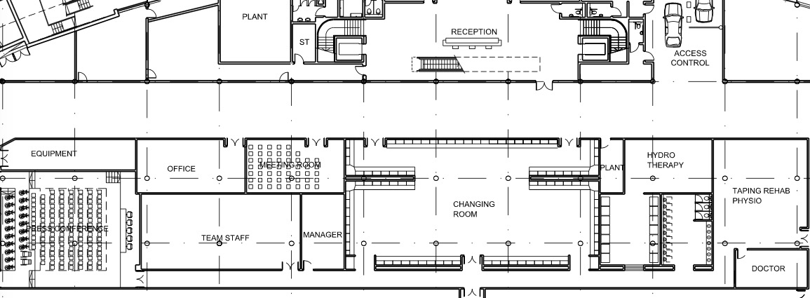 spurs stadium plans reveal possible nfl sized locker room cartilage free captain. Black Bedroom Furniture Sets. Home Design Ideas