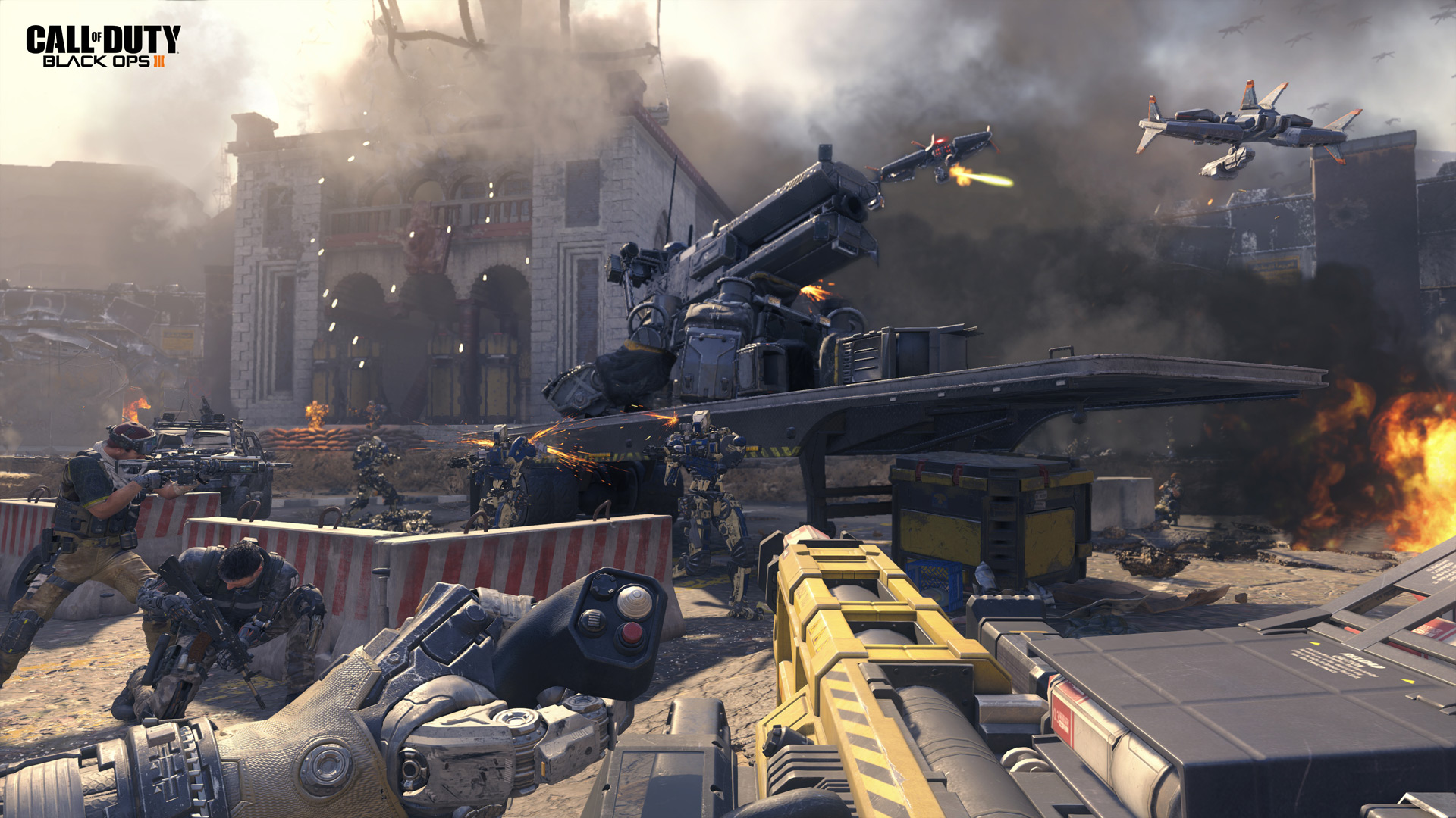 Black Ops 3 The Future Of Call Duty Multiplayer
