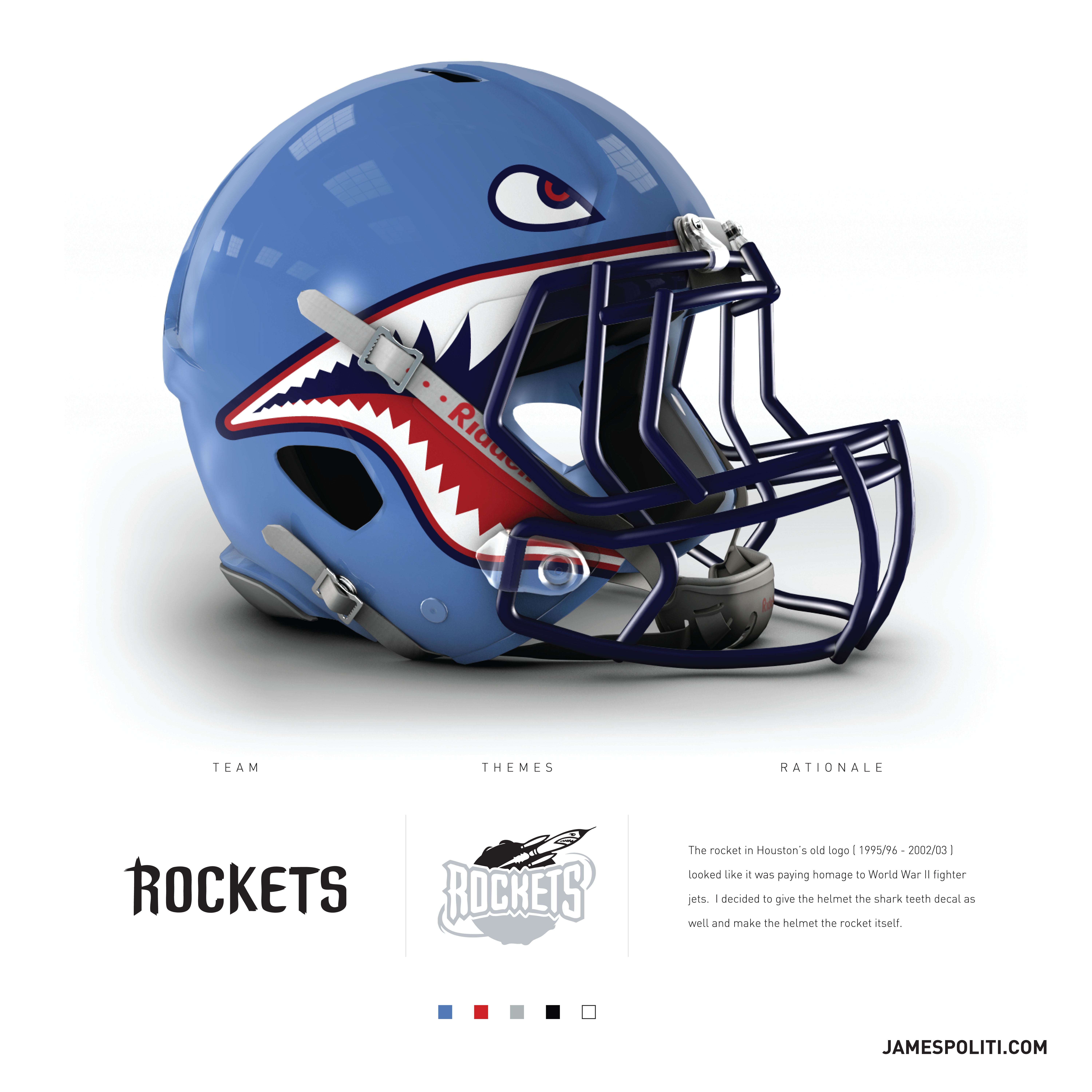 One talented designer imagined a football helmet for every NBA team