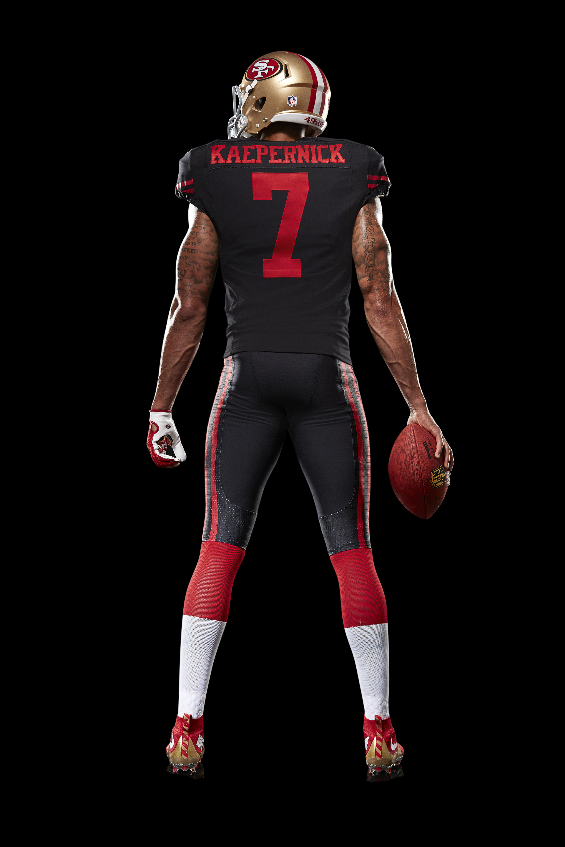 49ers officially unveil black, red and gold alternate uniform for ...