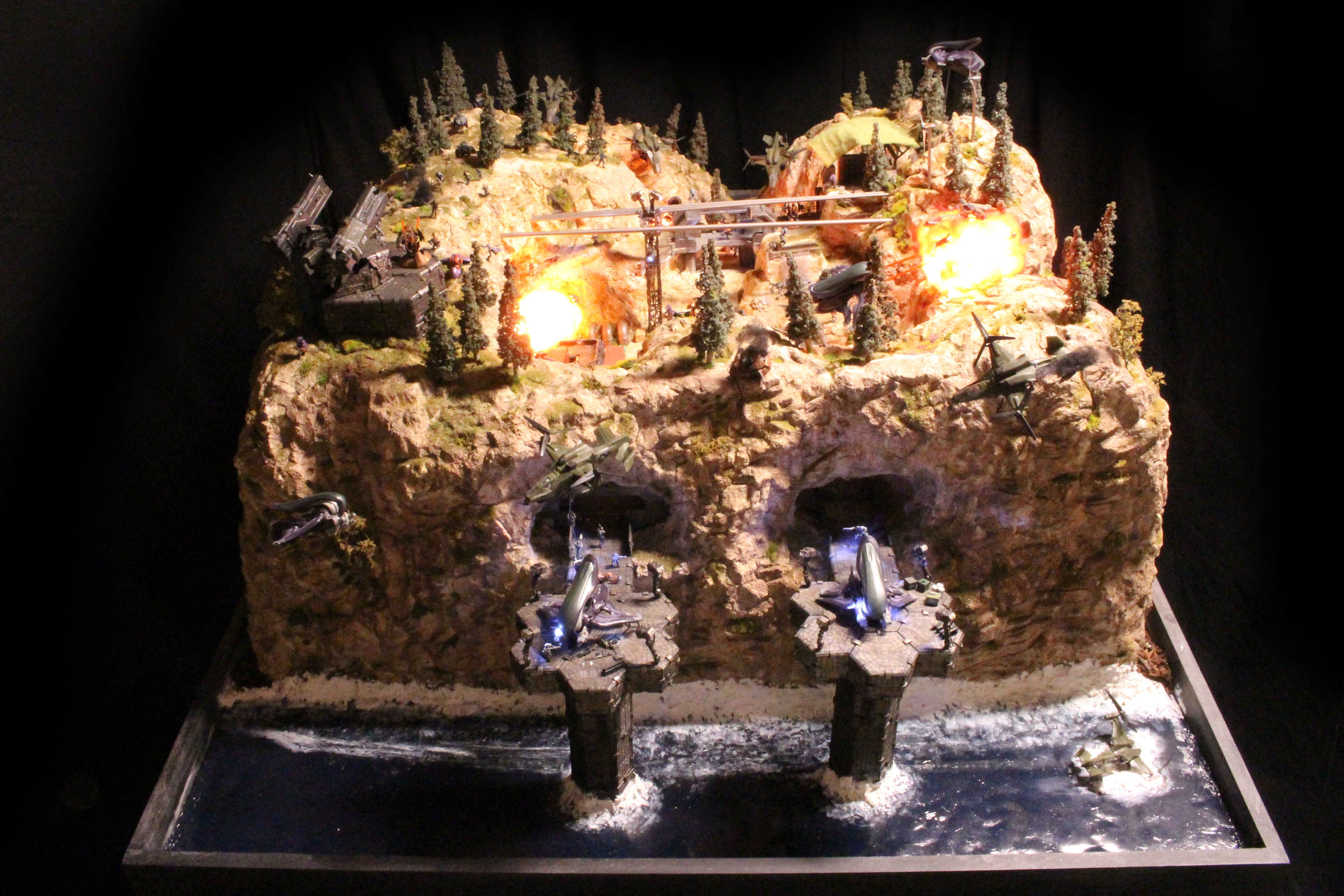 Halo diorama may be the largest ever made by a fan