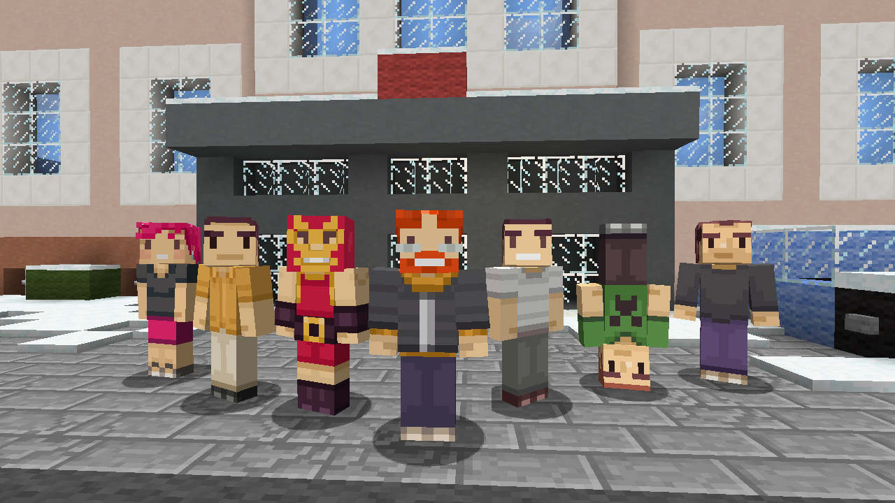 Free Minecraft Skins Hit Xbox To Celebrate Three Years On Microsoft - Skins gratis minecraft xbox 360
