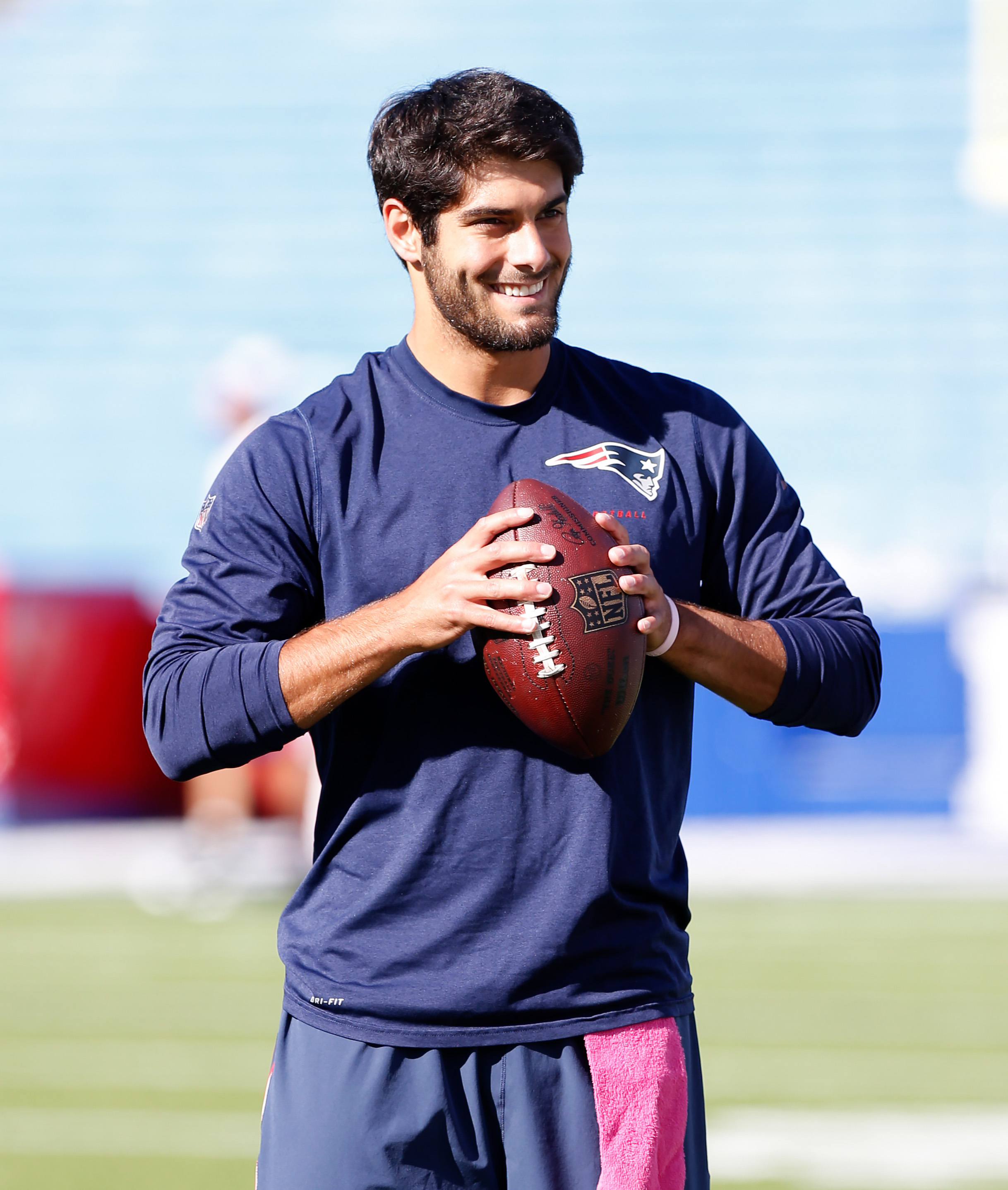 7 facts you need to know about new Patriots starting QB Jimmy Garoppolo, Tom Brady's replacement ...