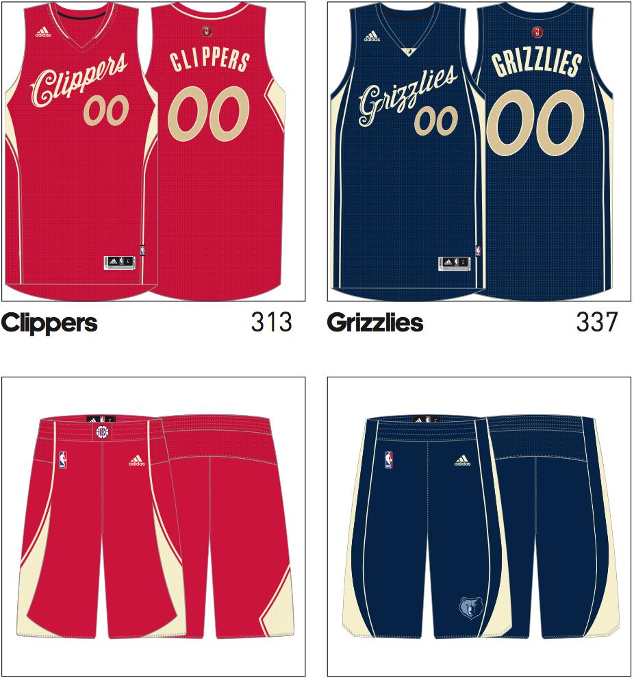 Check out next season's NBA Christmas uniforms - SBNation.com