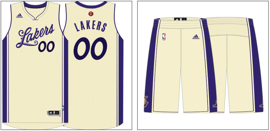 Lakers 2015 Christmas Day uniform unveiled - Silver Screen and Roll