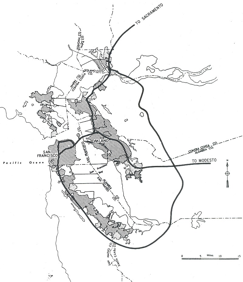 Highways Gutted American Cities So Why Did They Build Them Vox - Original map of us interstae system 1955