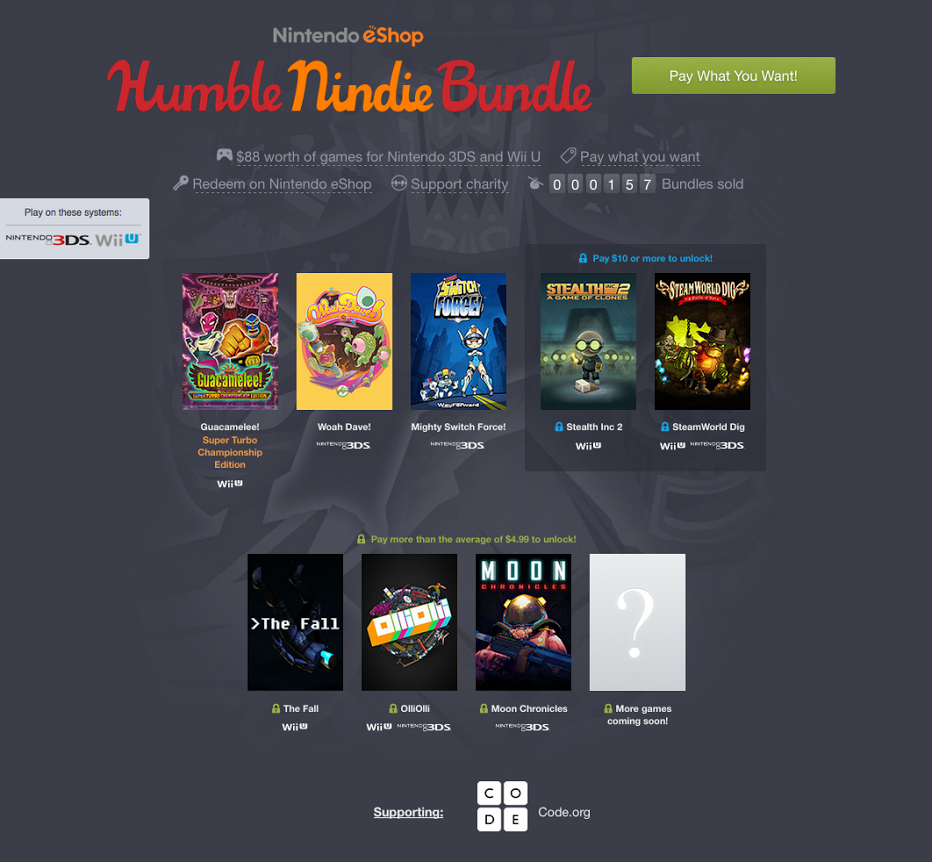nintendo gets a humble bundle and it s all indies polygon