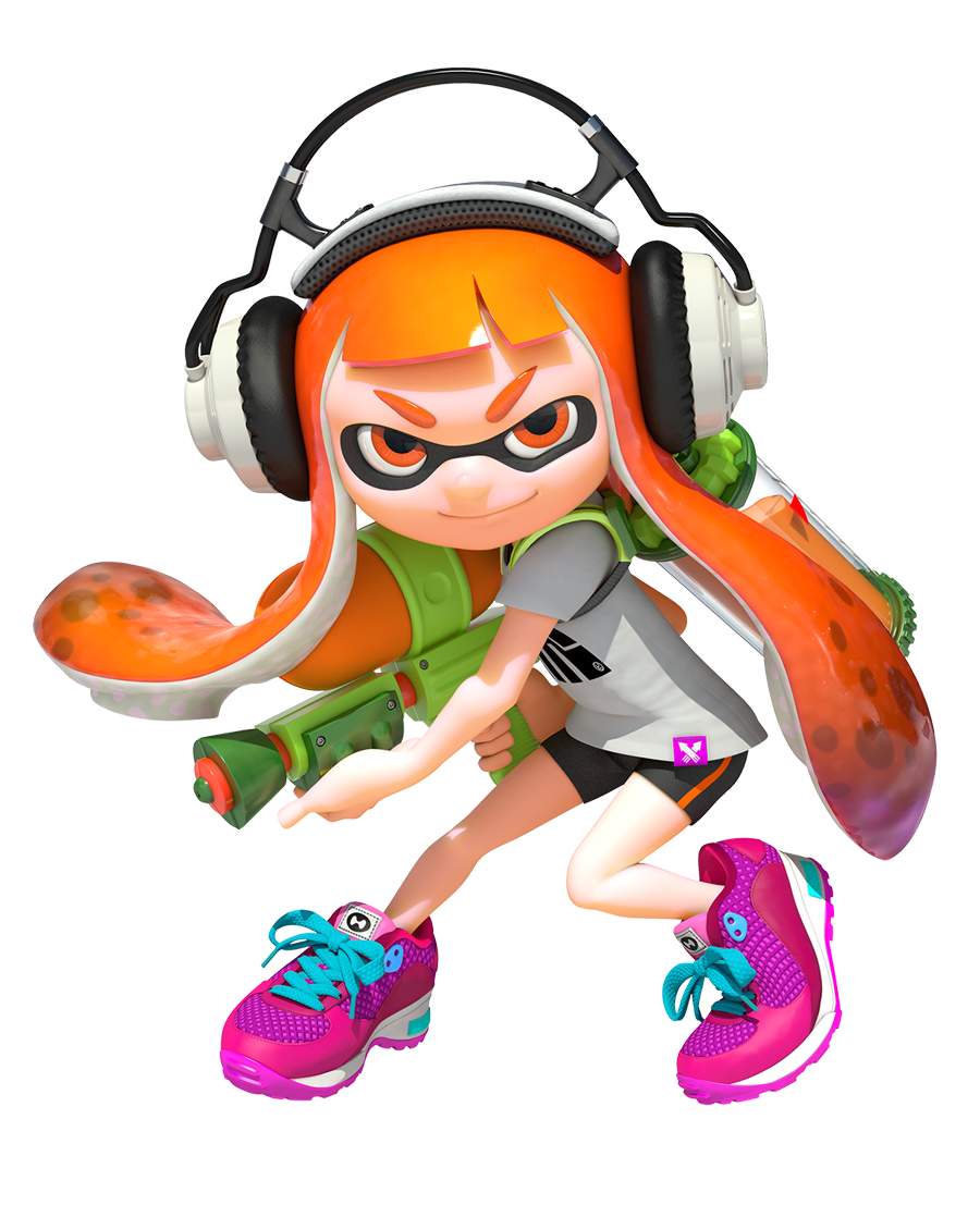 Splatoon review: movable type
