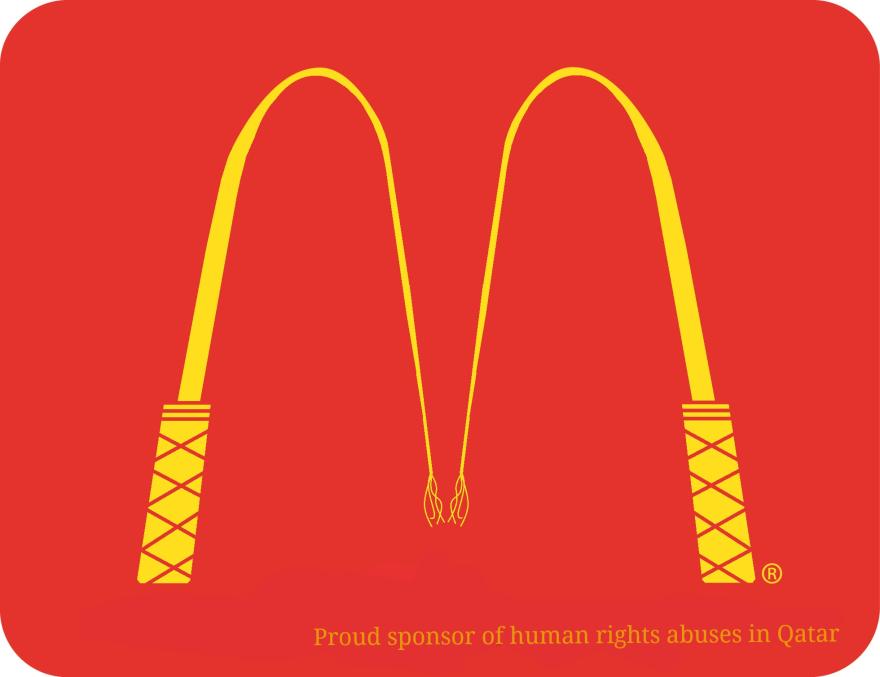 2022 world cup anti logos the verge