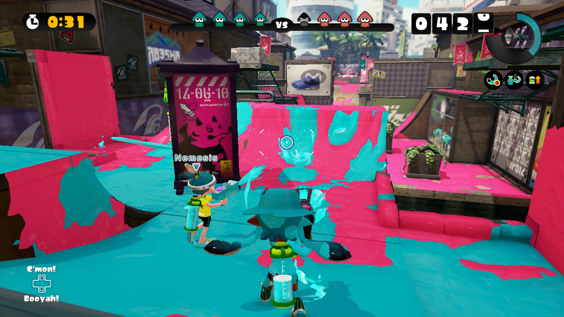 Five tips you should know before jumping into Splatoon's multiplayer
