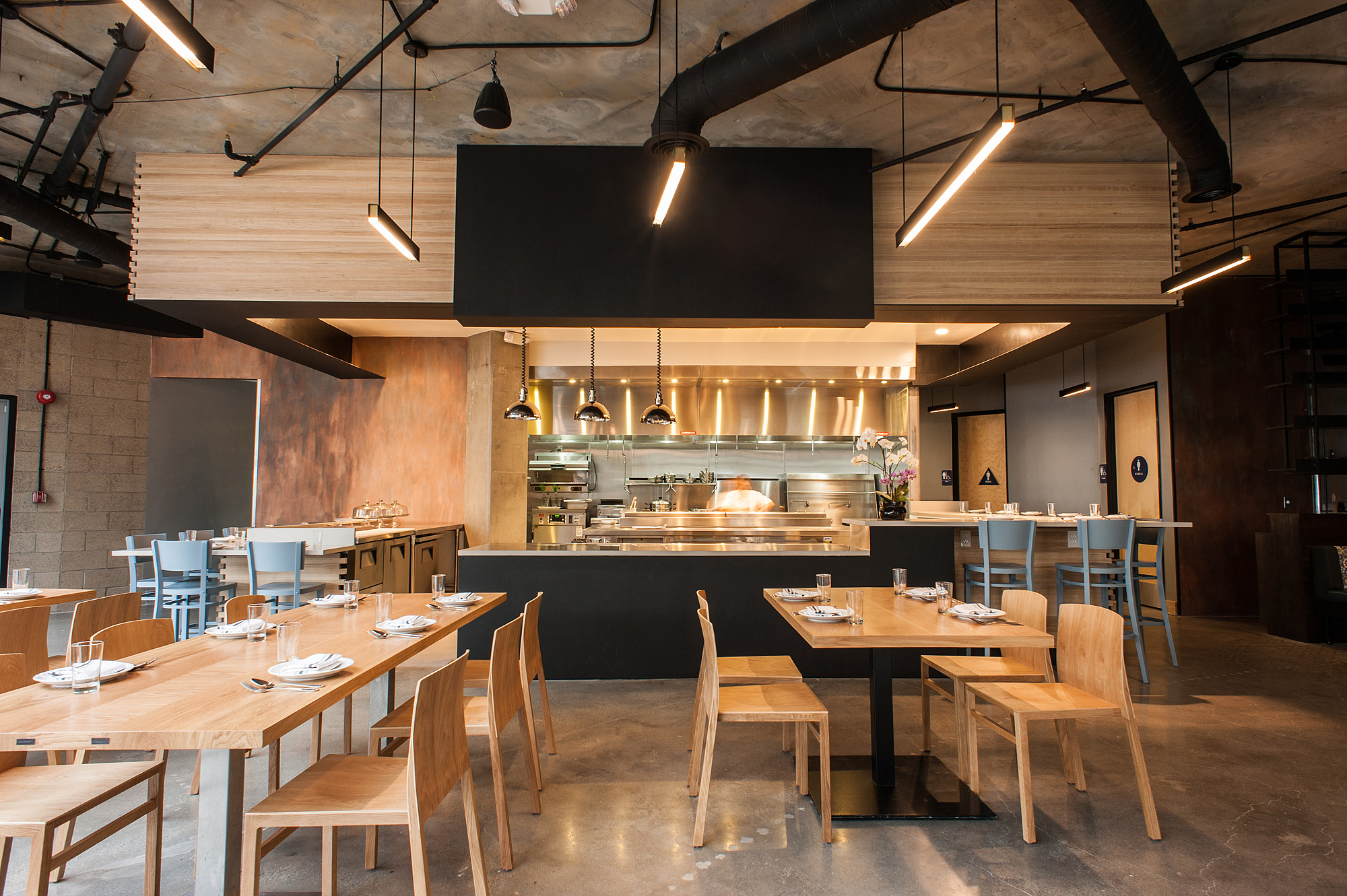 Los angeles restaurants with the most stunning design for Asian cuisine restaurant