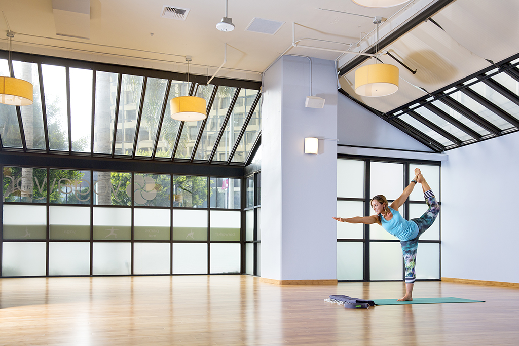 Explore YogaWorks's Crazy-Beautiful Brentwood Oasis