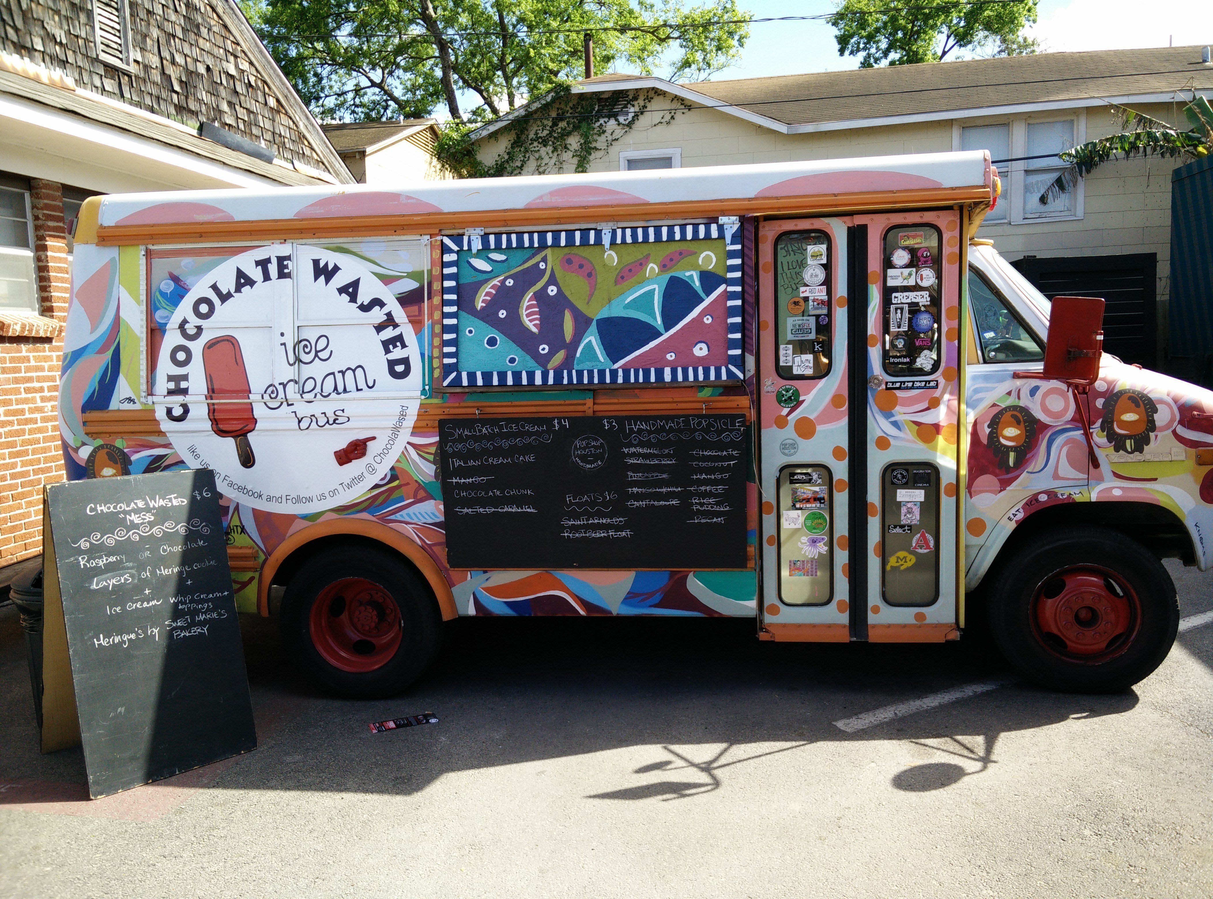 Chocolate Wasted Food Truck