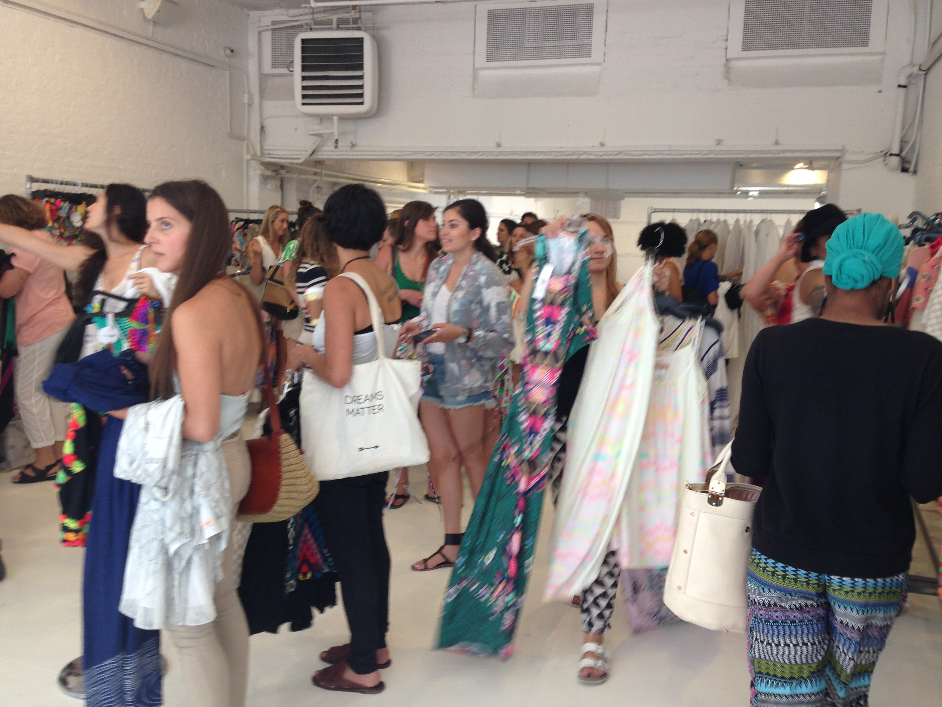 The Mara Hoffman Sample Sale Line Is at the Register, Not Outside ...