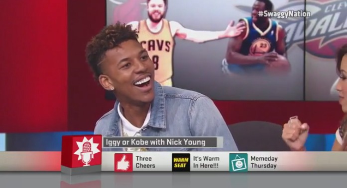 Nick Young can't tell Iggy Azalea's rap lyrics from Kobe Bryant's