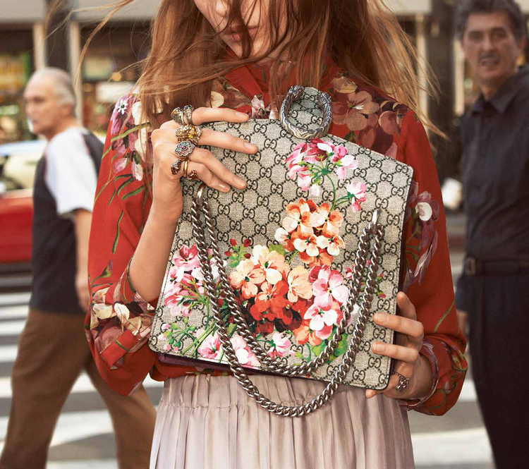 Gucci Takes Its Eclectic Look To LA For New Campaign