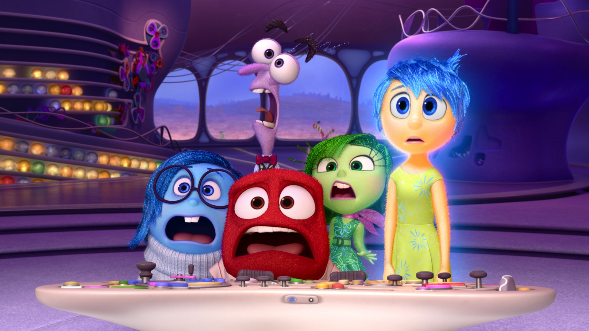 Inside Out promotional images (DISNEY/PIXAR)