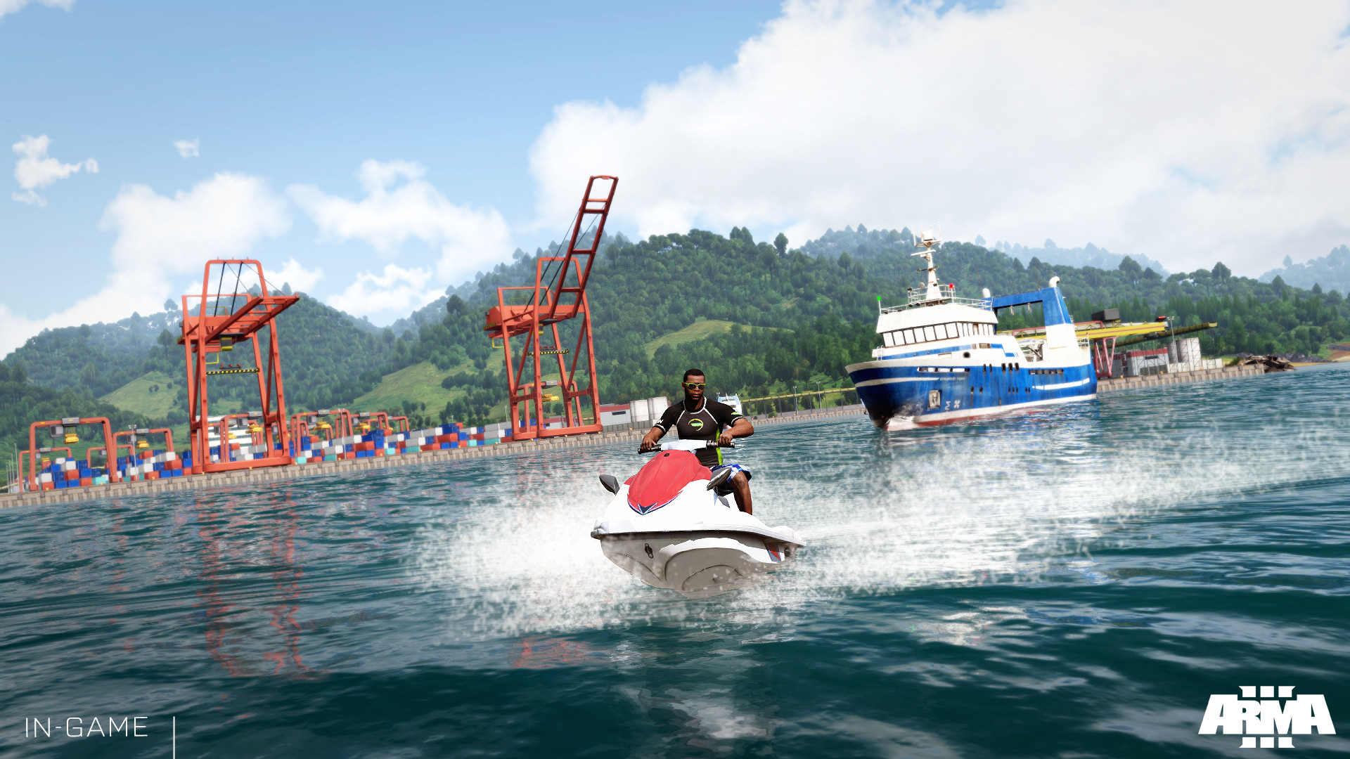 Tanoa terrain coming to Arma 3 in 2016, here's the first trailer